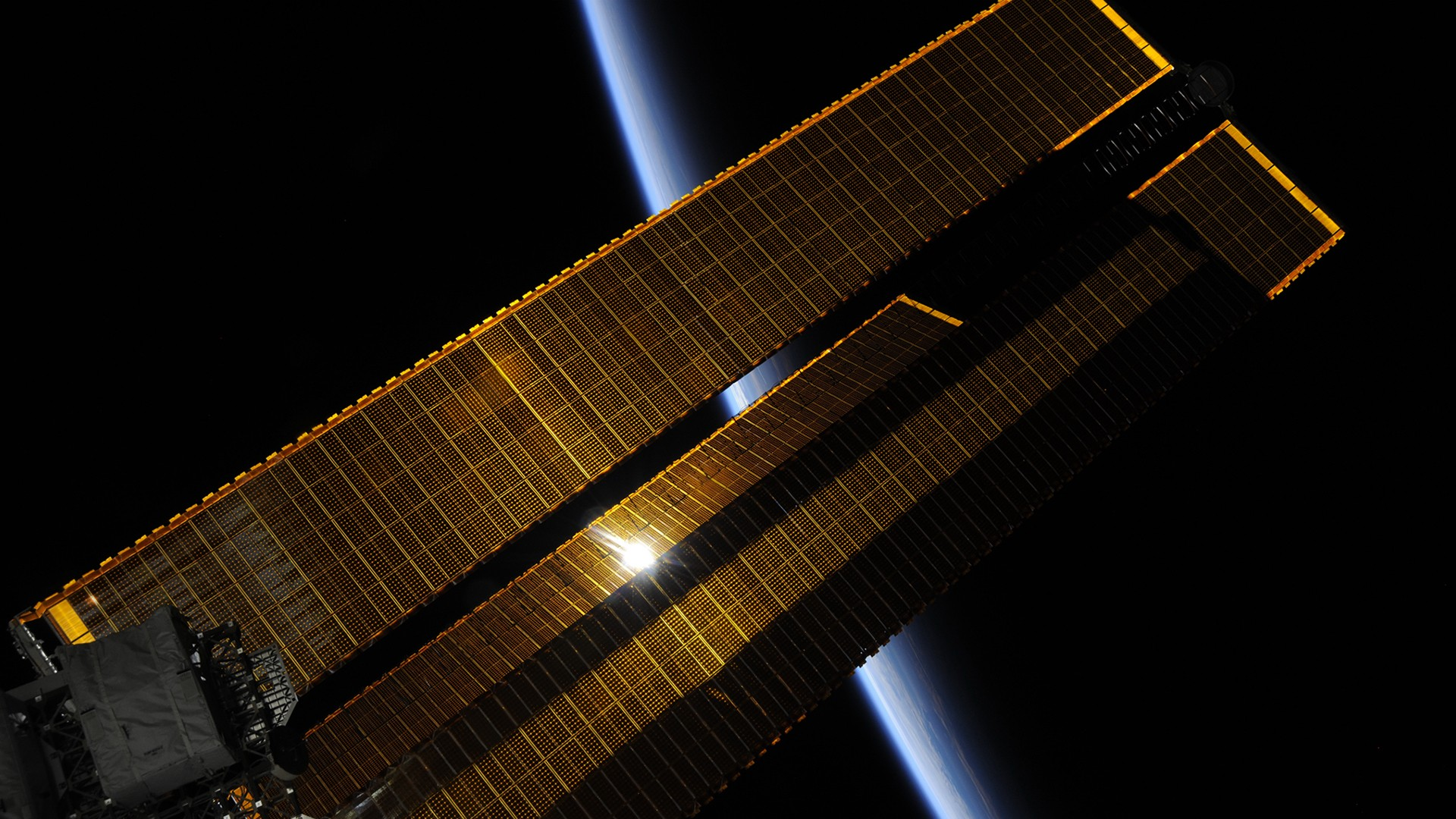 General 1920x1080 International Space Station Roscosmos State Corporation space Roscosmos Earth