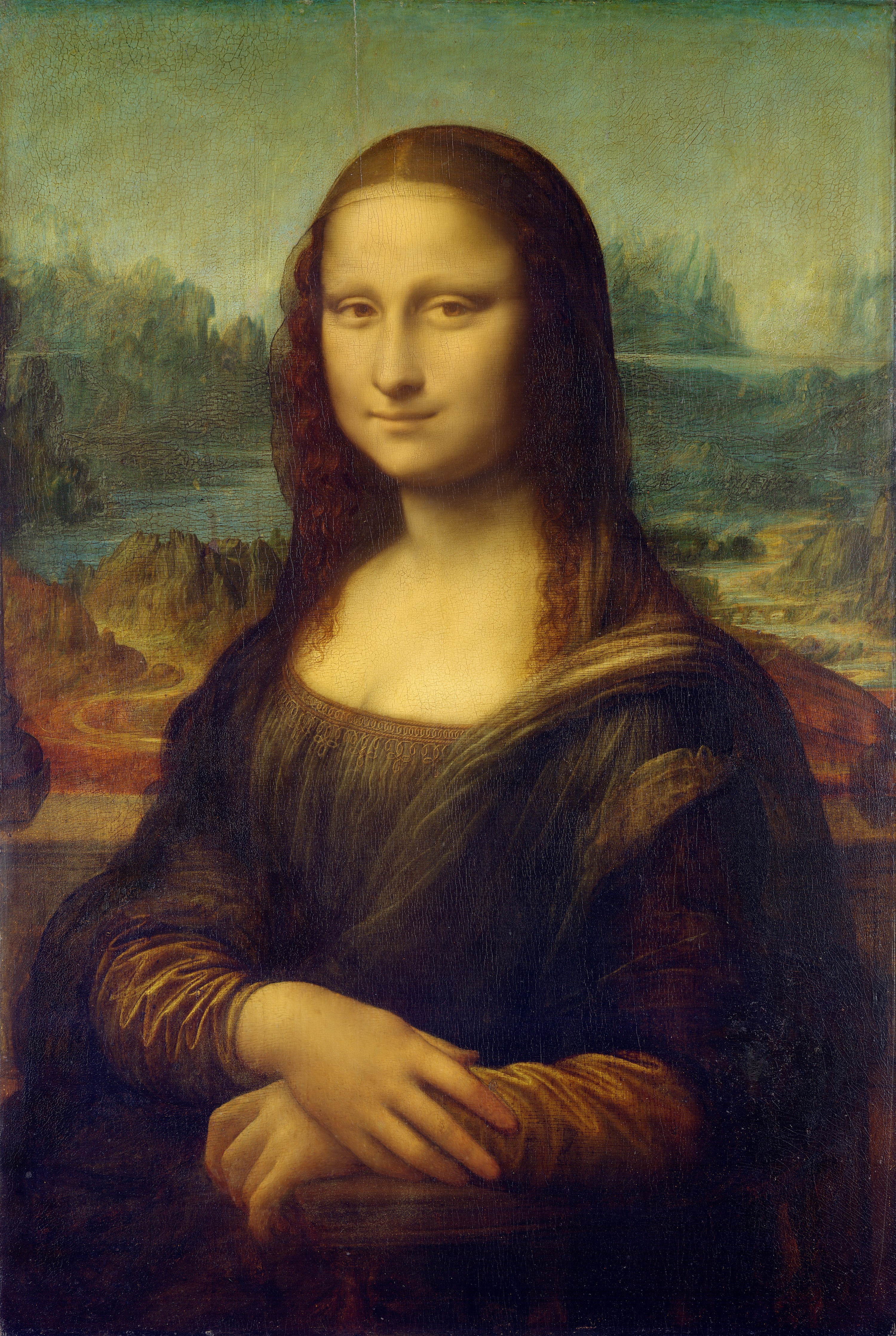 General 3000x4471 Mona Lisa Leonardo da Vinci classical art painting