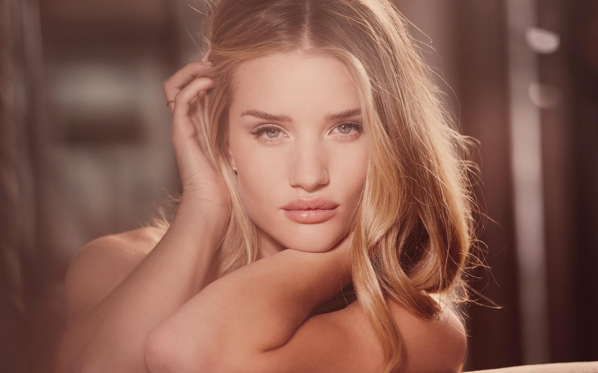 People 1920x1200 Rosie Huntington-Whiteley women face blonde lips model
