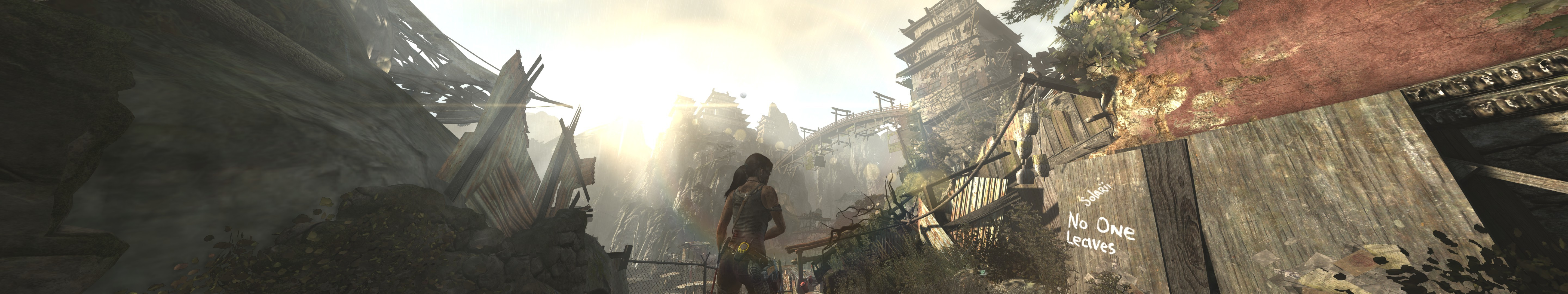 General 5760x1080 Tomb Raider Eyefinity video games triple screen
