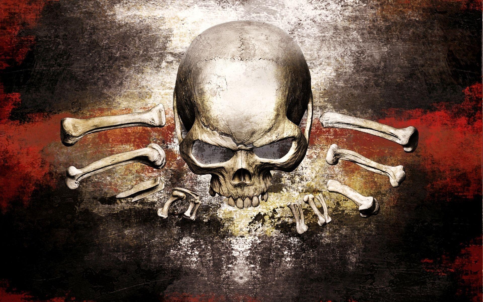 General 1920x1200 Risen 2 video games RPG skull