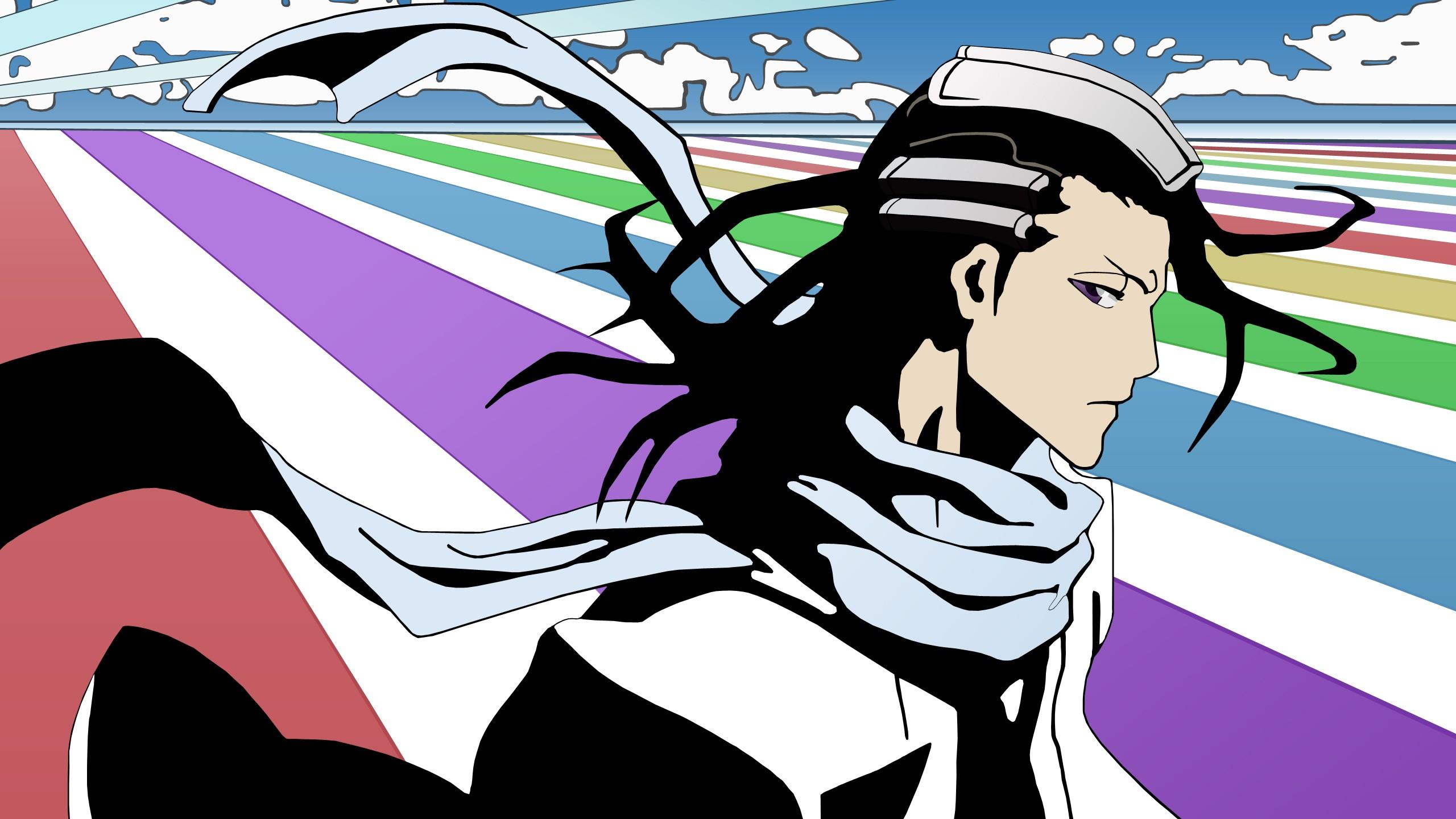 Anime 2560x1440 Bleach Kuchiki Byakuya anime vectors anime