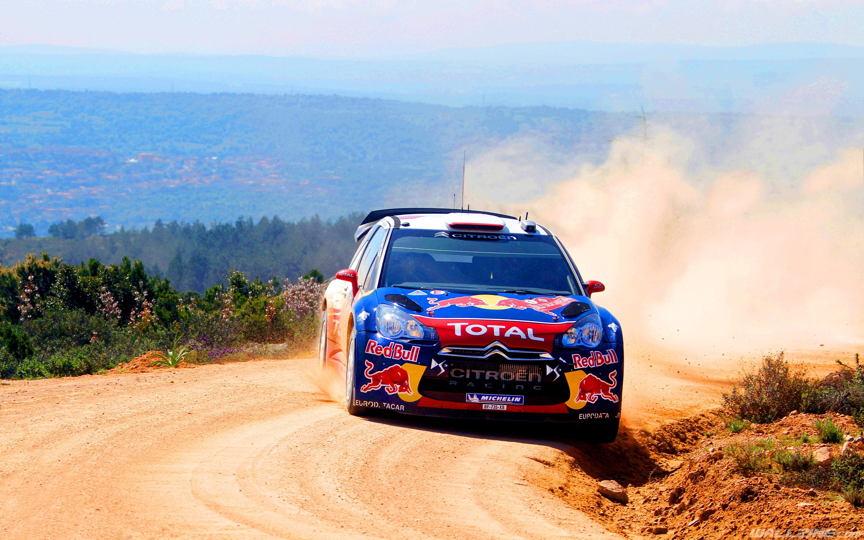 General 2880x1800 car Red Bull rally cars Rally Citroën Citroen DS3 vehicle
