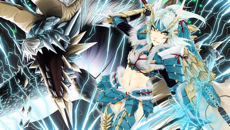 Anime 1500x844 Monster Hunter Jinouga Zinogre