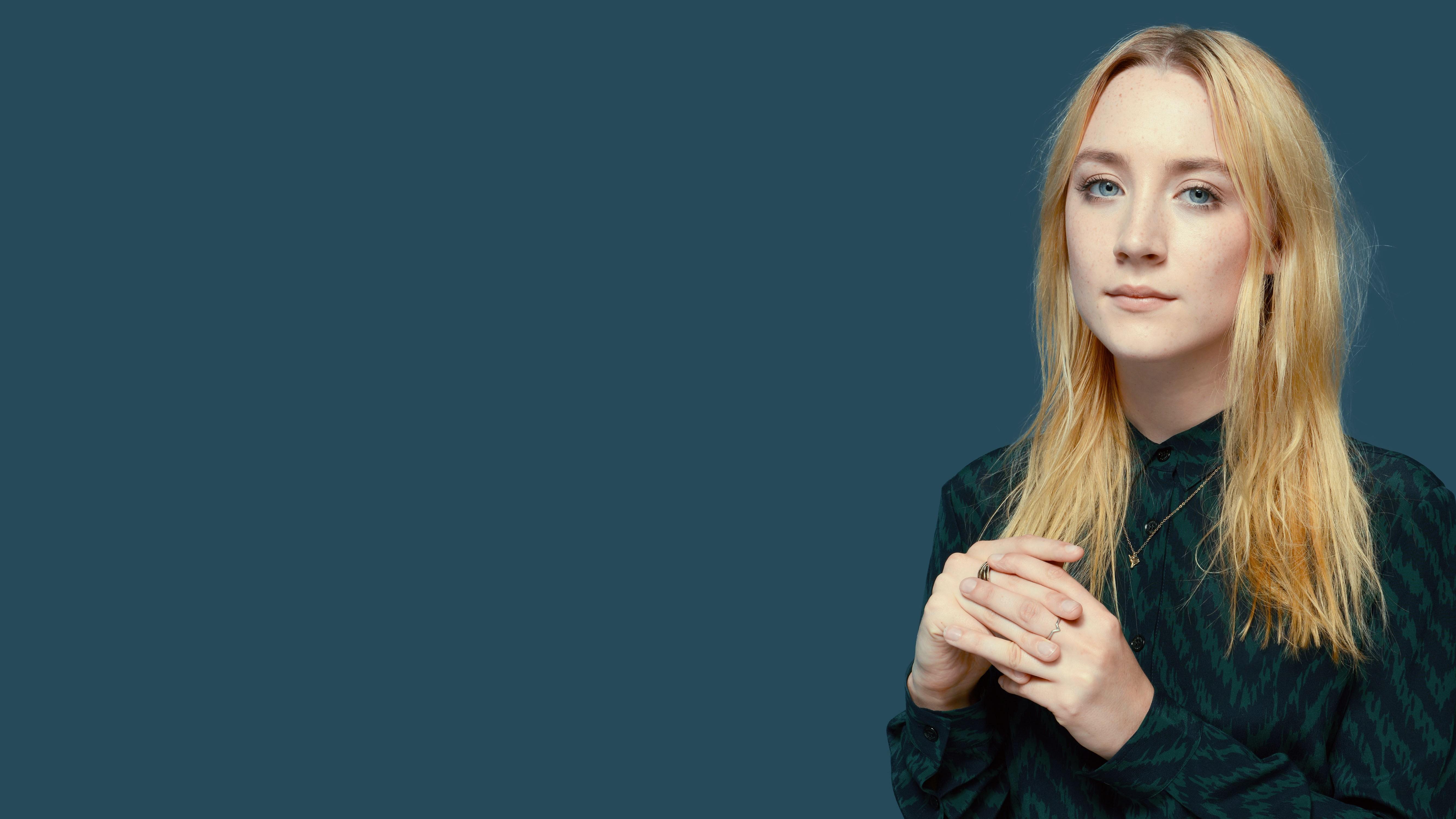 People 5333x3000 Saoirse Ronan actor blonde blue eyes