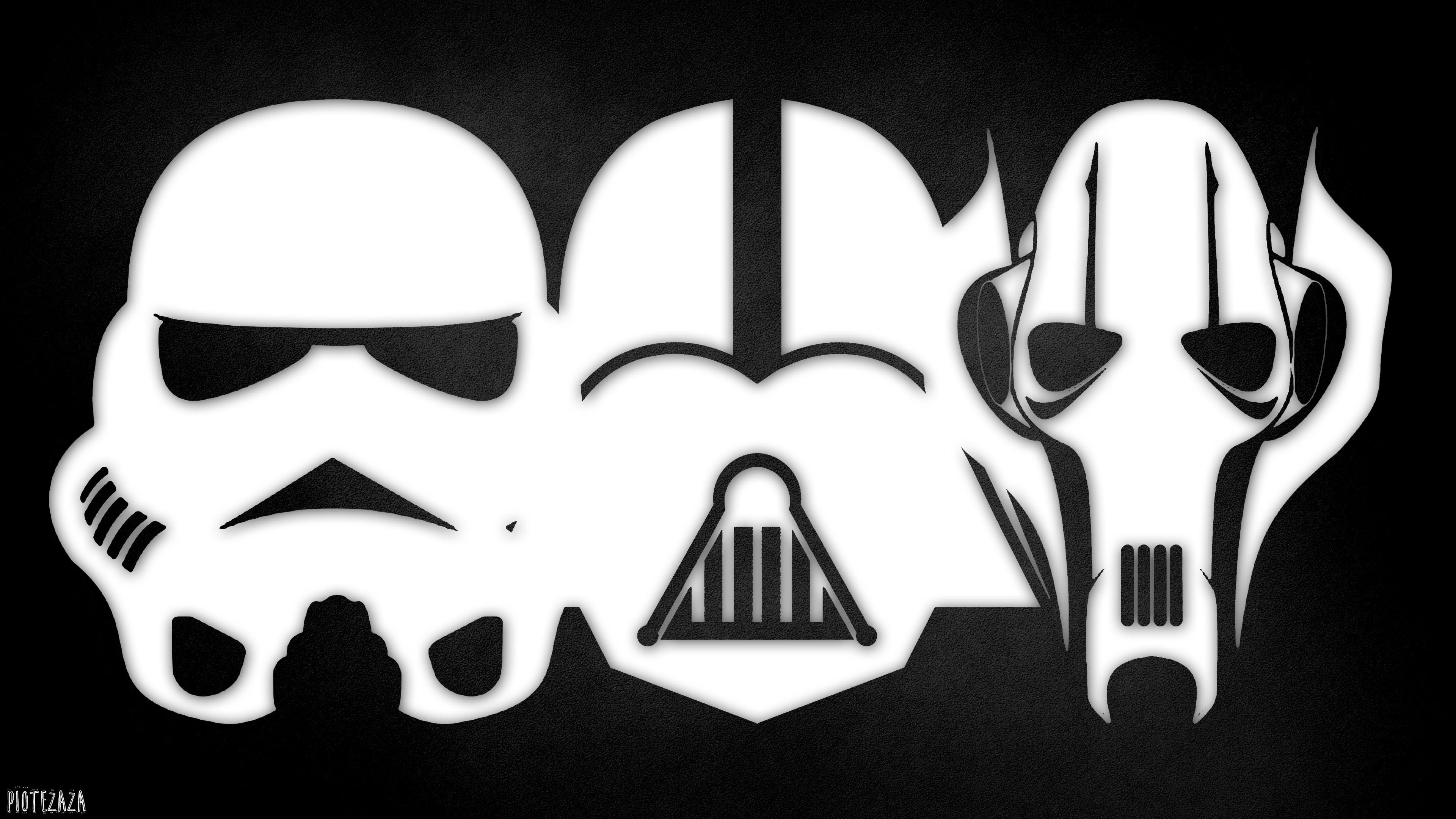 General 3840x2160 Star Wars helmet stormtrooper