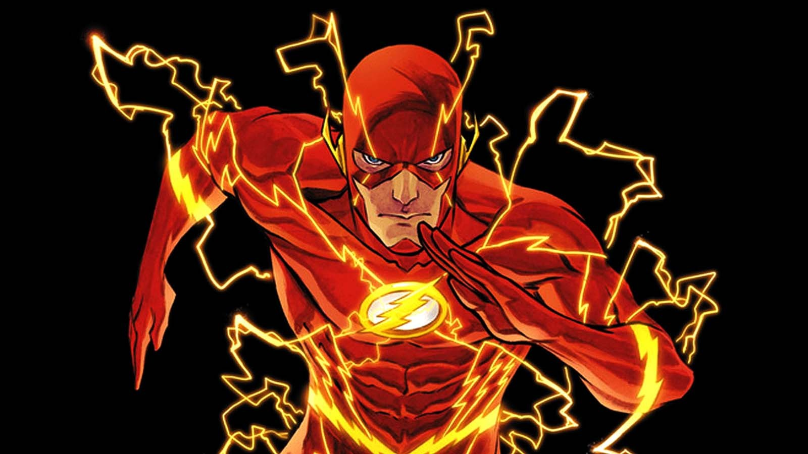 General 1600x900 The Flash fan art superhero artwork
