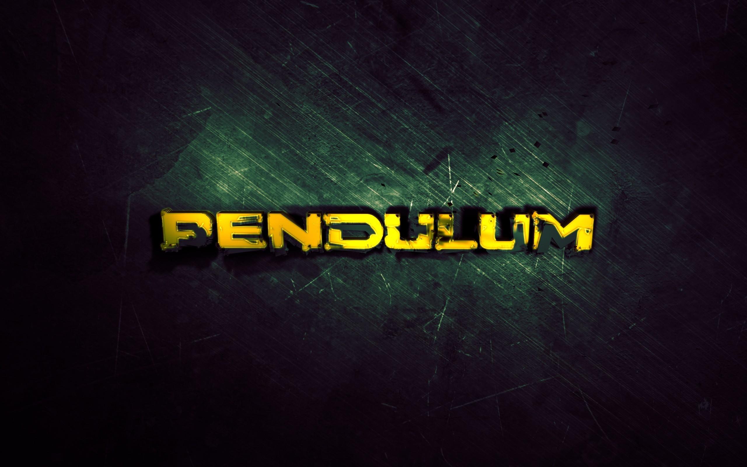 General 2560x1600 Pendulum music texture typography