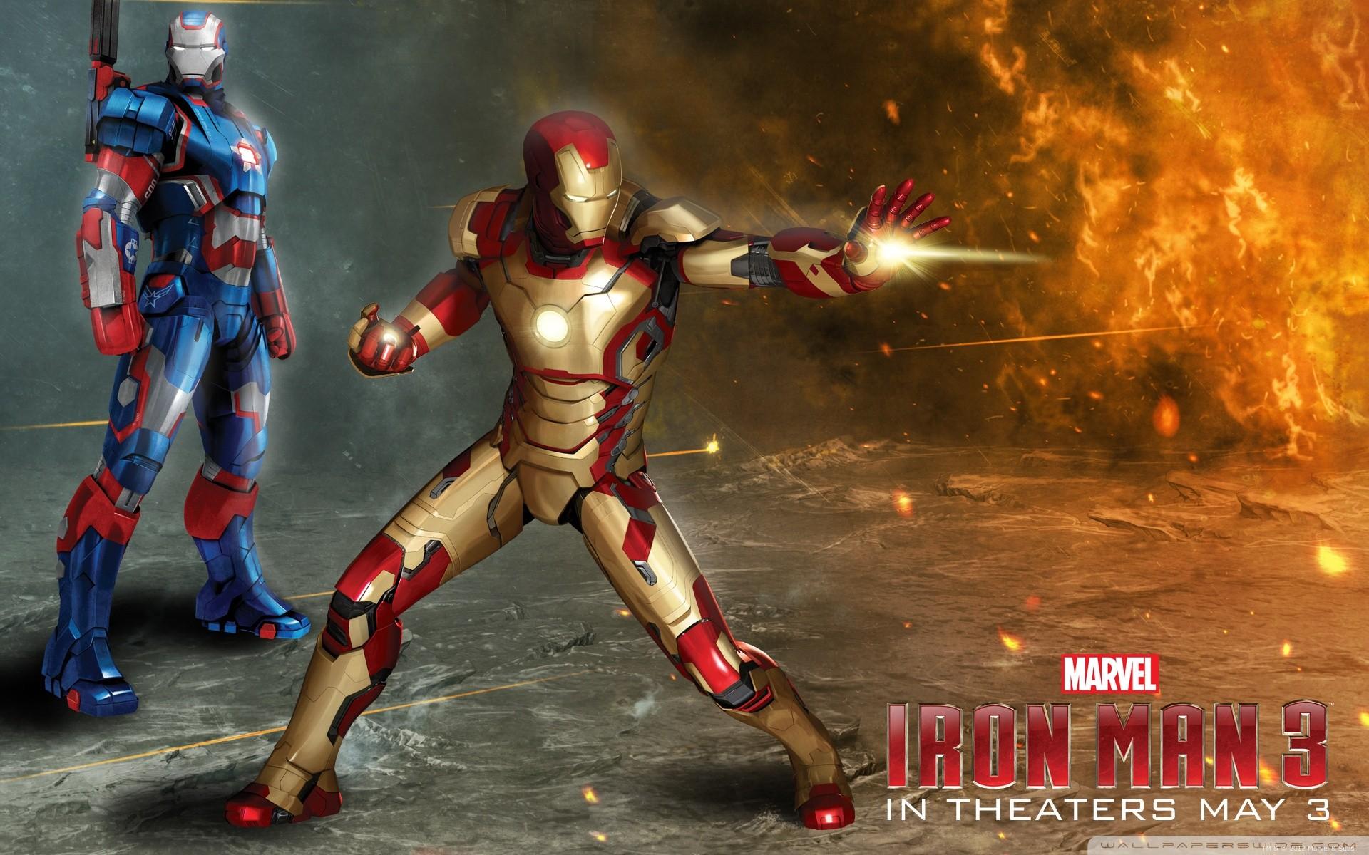 General 1920x1200 Iron Man 3 Iron Patriot Iron Man
