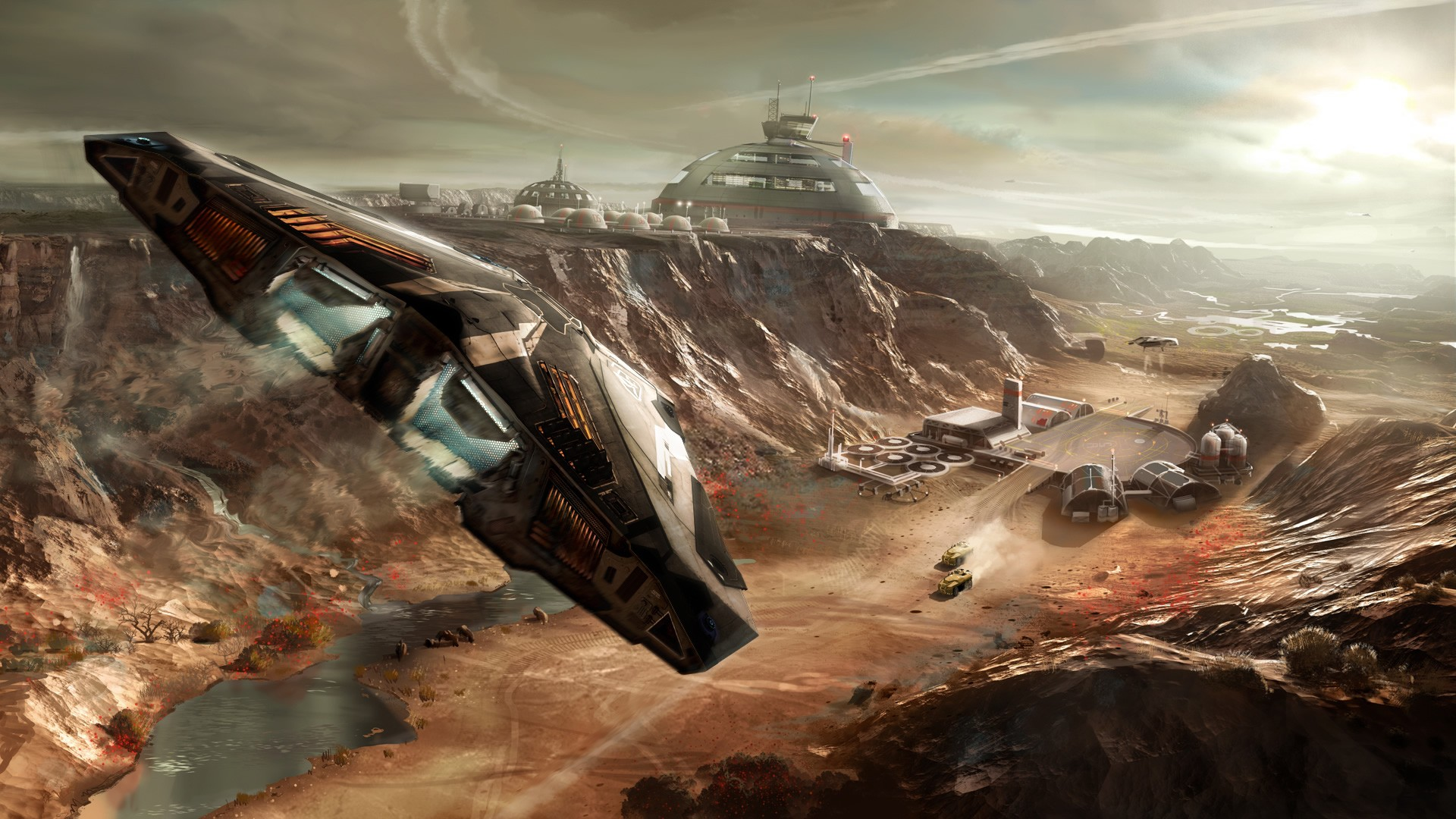 General 1920x1080 Elite Elite: Dangerous space video games Cobra MKIII