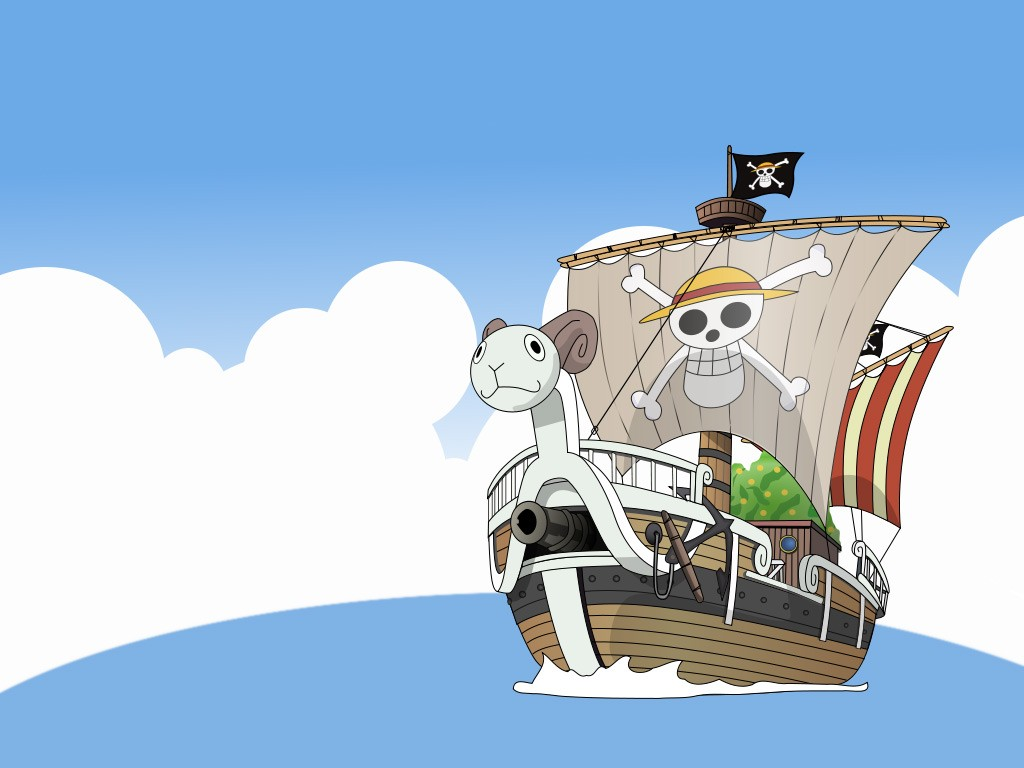 One Piece, anime, ship, vehicle   1024x768 Wallpaper ...