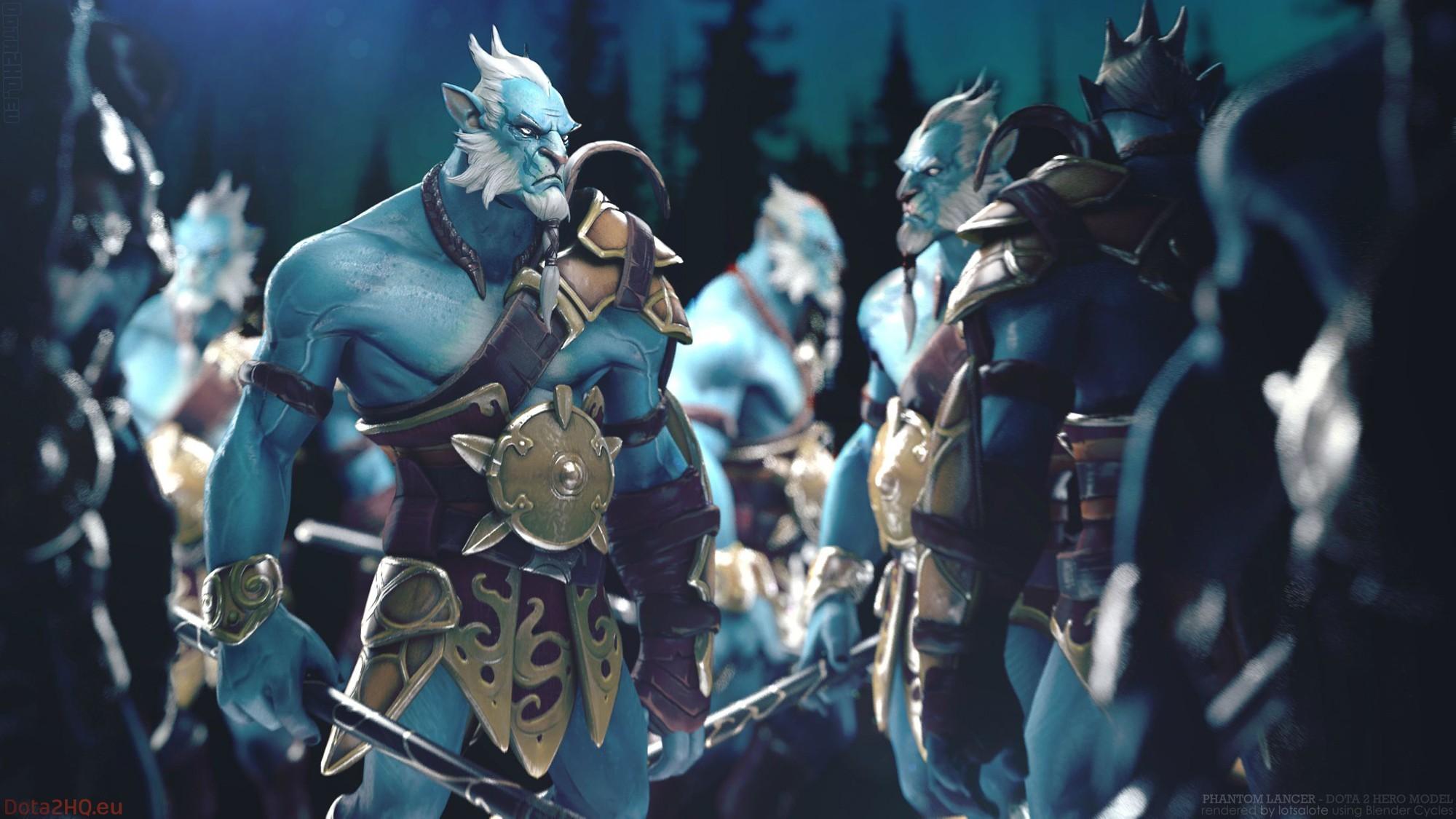 General 2000x1125 Dota 2 Dota Defense of the ancient Valve Valve Corporation Phantom Lancer blue
