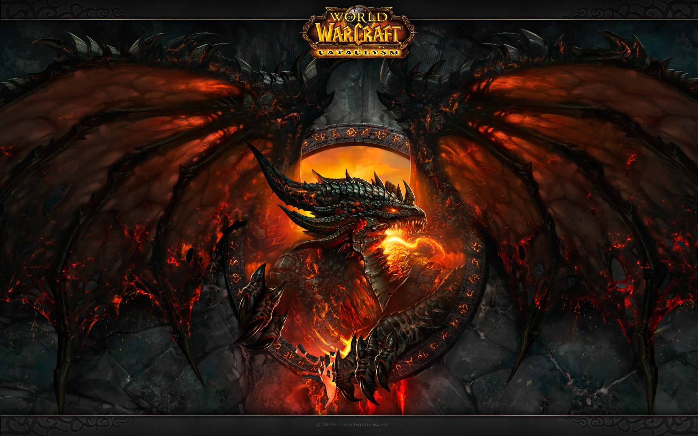 General 2880x1800 dragon World of Warcraft World of Warcraft: Cataclysm