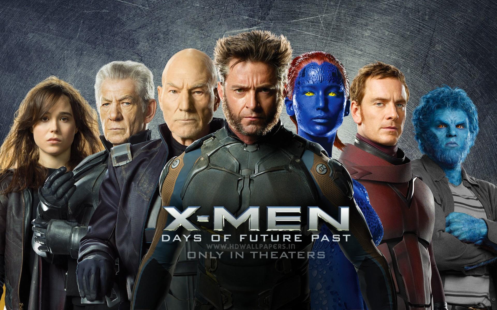 People 1920x1200 X-Men: Days of Future Past Wolverine Magneto Beast (character) Mystique Charles Xavier movies Patrick Stewart Ian McKellen Ellen Page Michael Fassbender Kitty Pryde