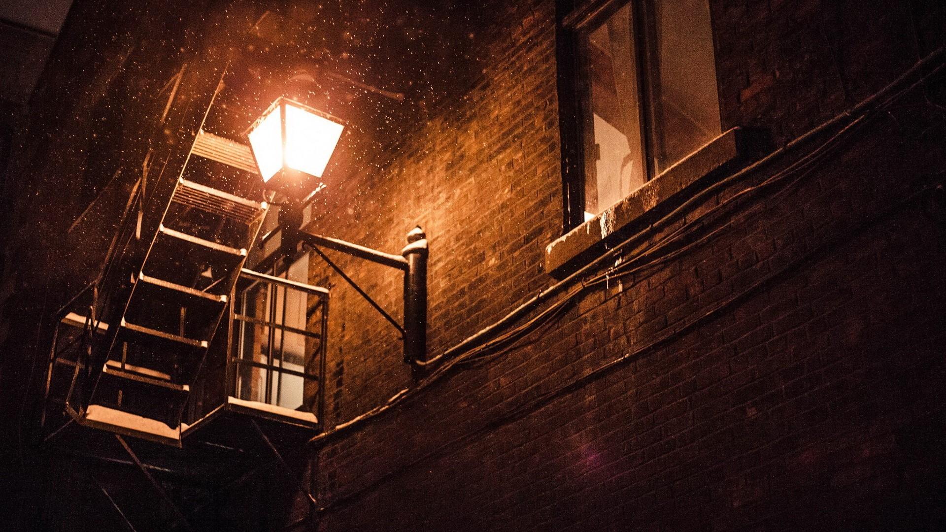 General 1920x1080 photography street street light snow