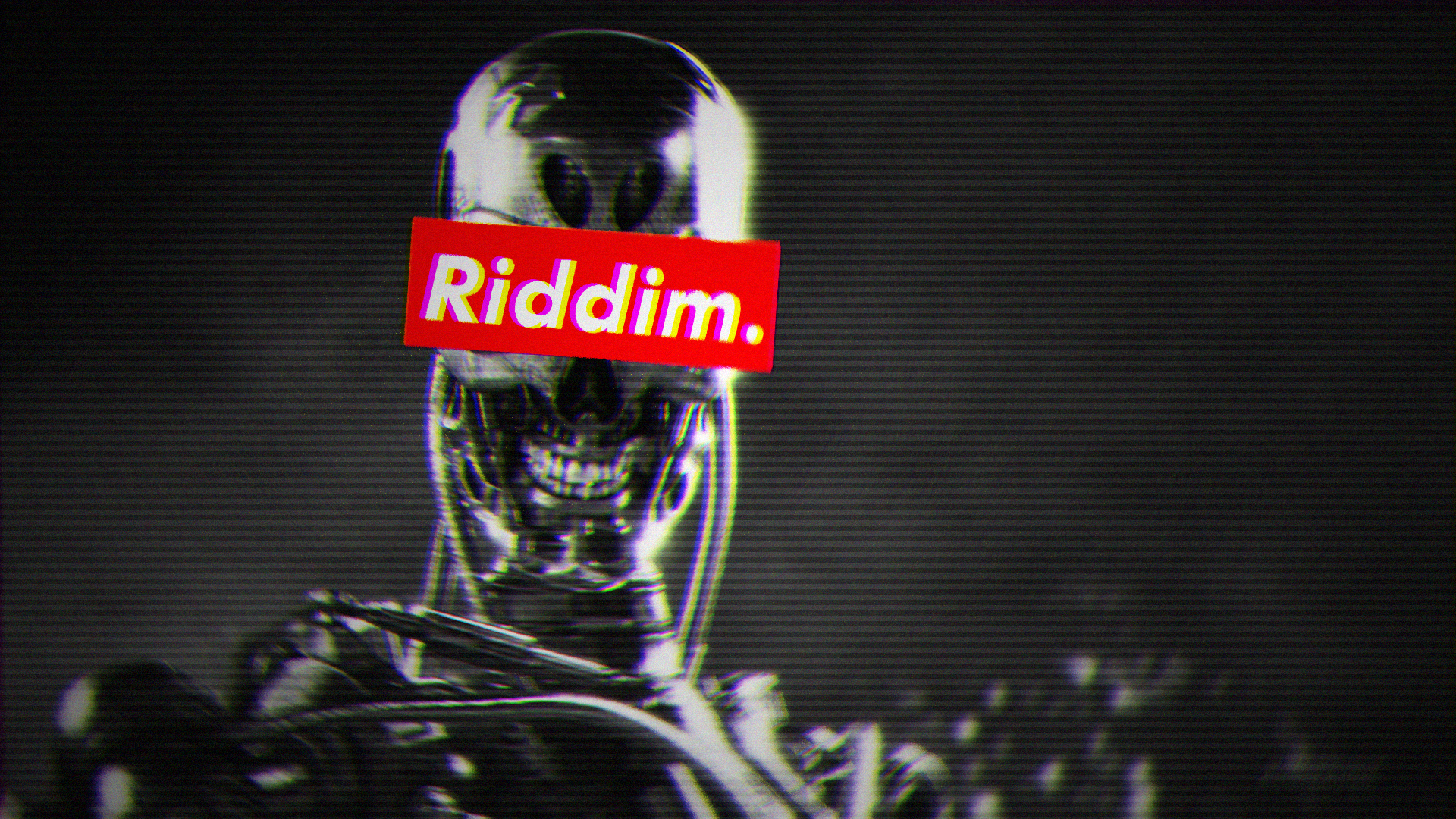 General 1920x1080 Riddim Dubstep dubstep glitch art VHS Terminator Terminator 2 Terminator 3: Rise of the Machines Terminator Genisys robot artwork simple
