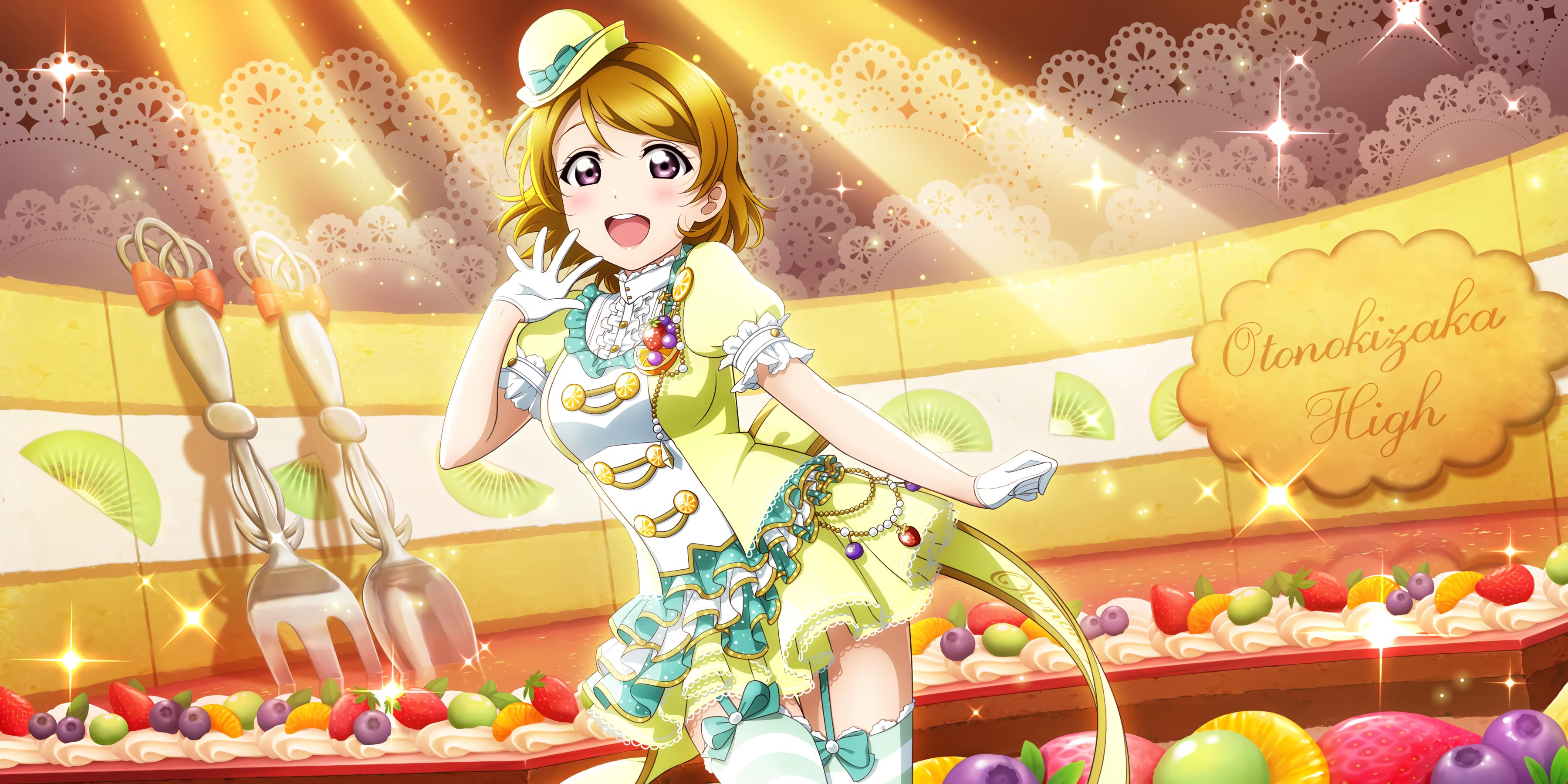 Anime 3600x1800 Love Live! Love Live Series Koizumi Hanayo