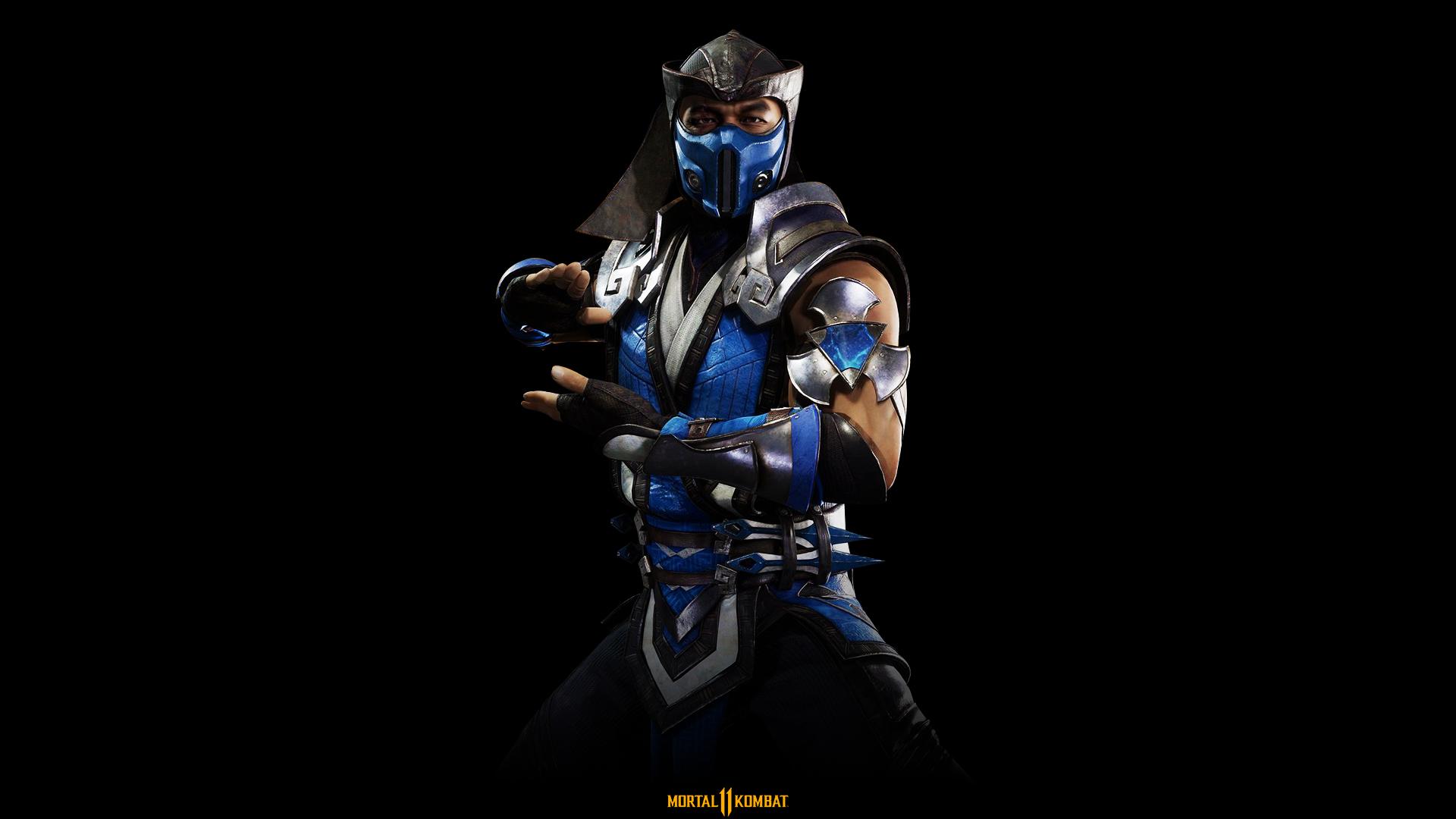 General 1920x1080 Mortal Kombat Mortal Kombat 11 Sub Zero Mortal Kombat X comic art comic books Injustice 2 Video Game Warriors video games