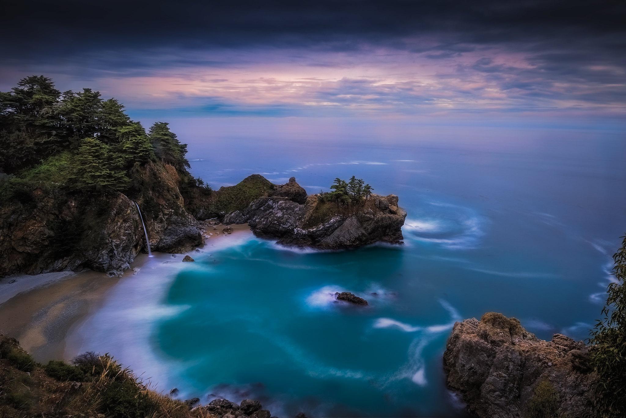 General 2048x1367 Big Sur California coast sea