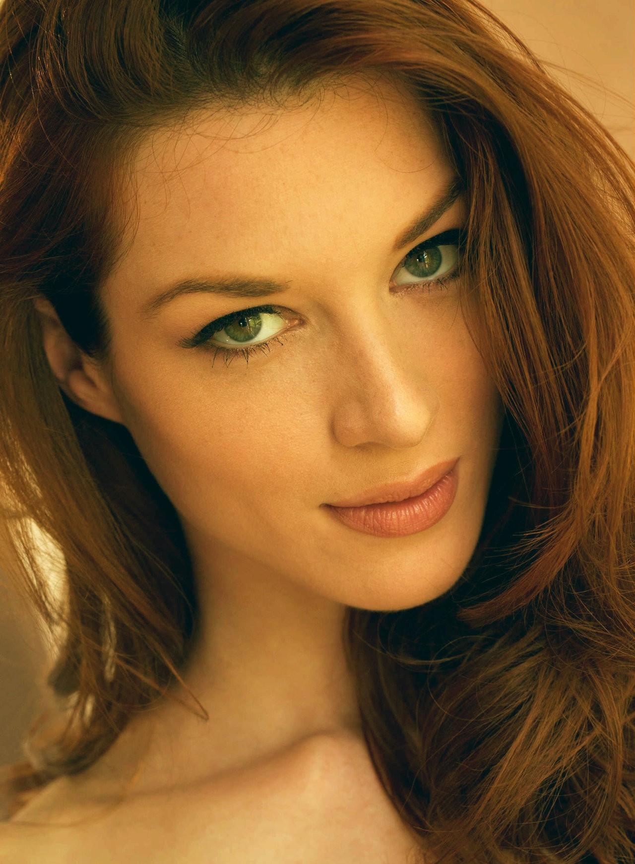 People 1280x1742 women model redhead long hair pornstar portrait display looking at viewer face portrait green eyes Stoya
