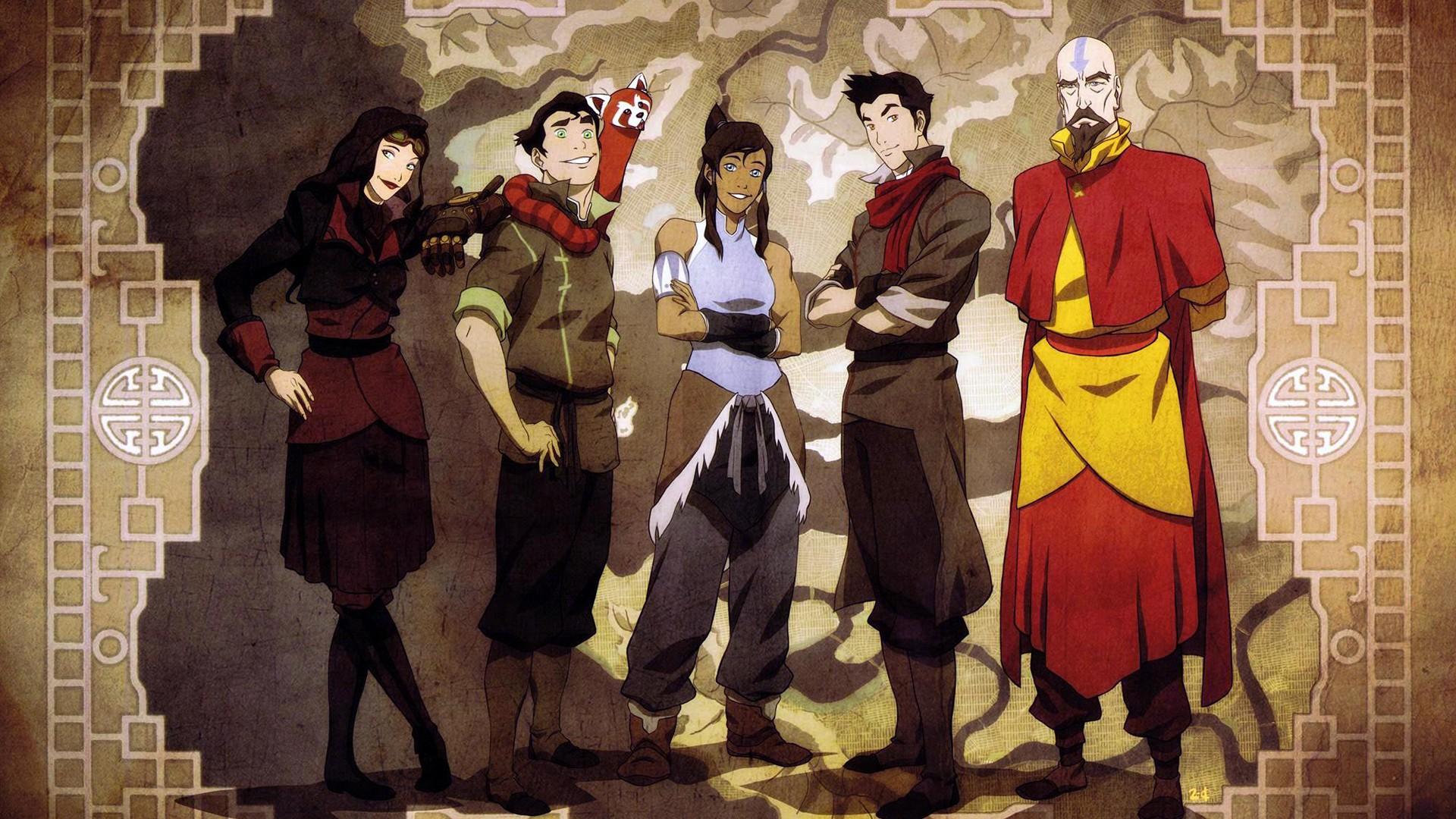Anime 1920x1080 Avatar: The Last Airbender The Legend of Korra anime boys anime girls anime