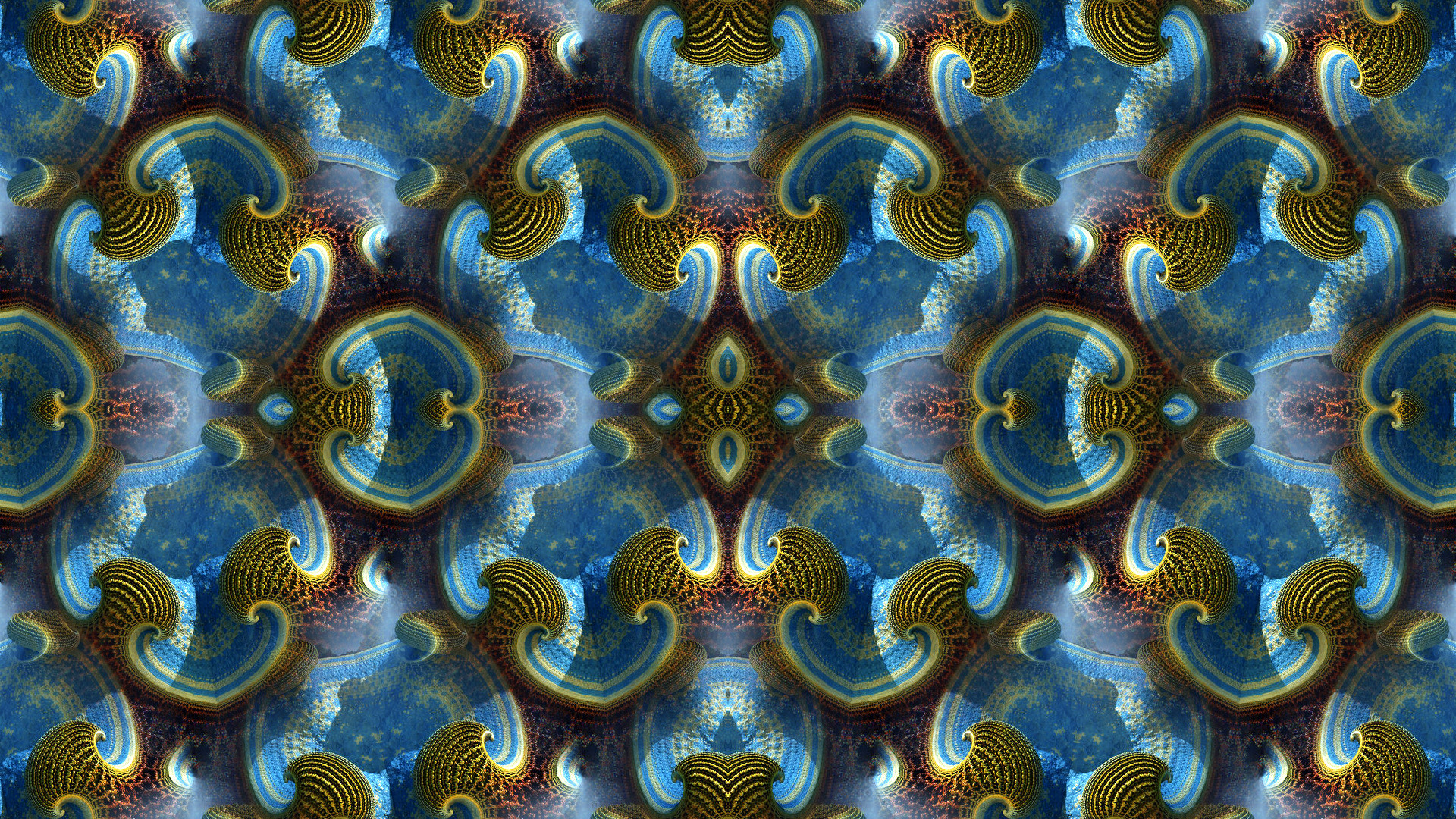 General 1920x1080 abstract pattern symmetry fractal
