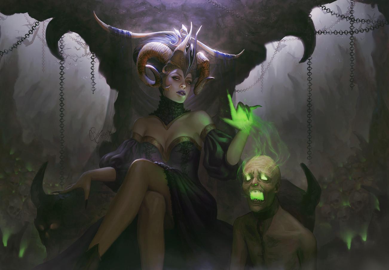 General 1302x904 Ina Wong artwork fantasy art fantasy girl
