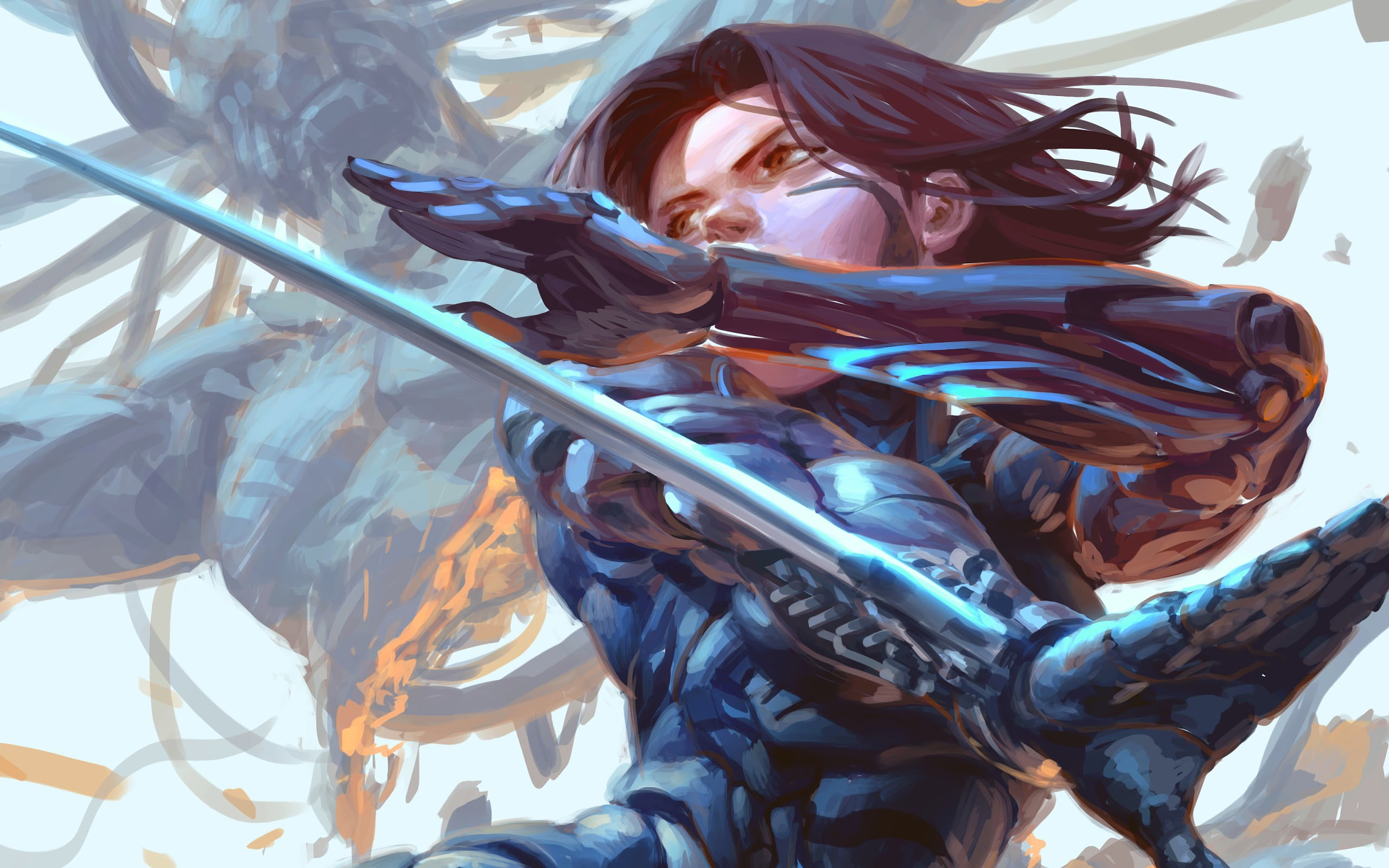 General 2560x1600 Alita Alita: Battle Angel artwork women
