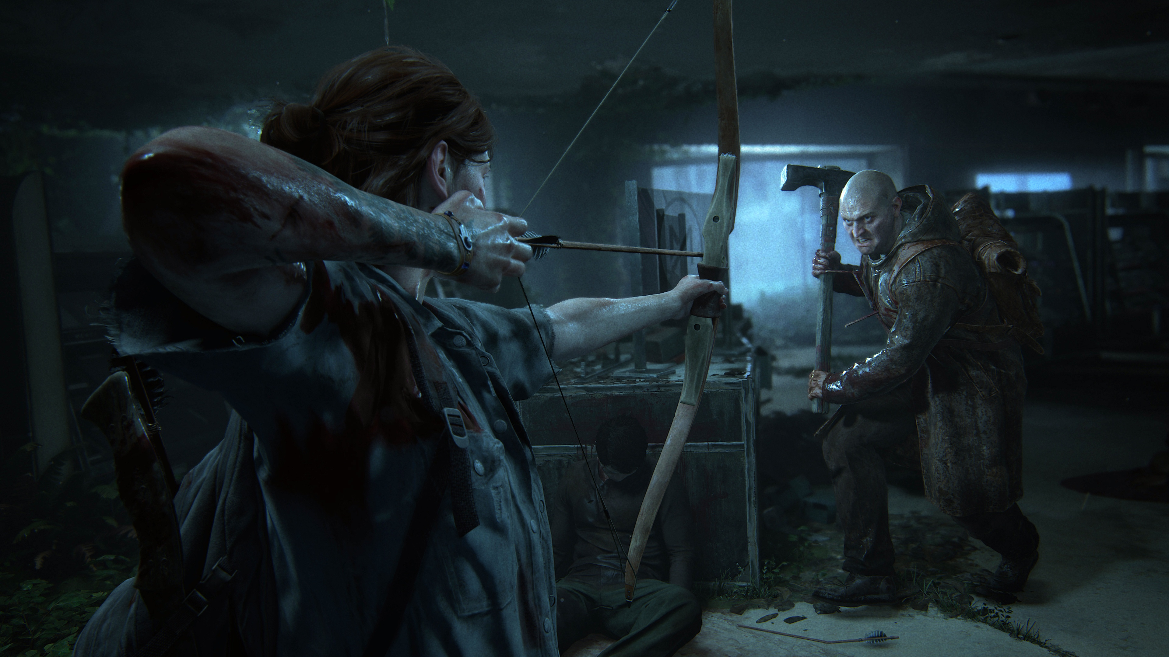 General 3840x2160 video games The Last of Us 2 bow arrows