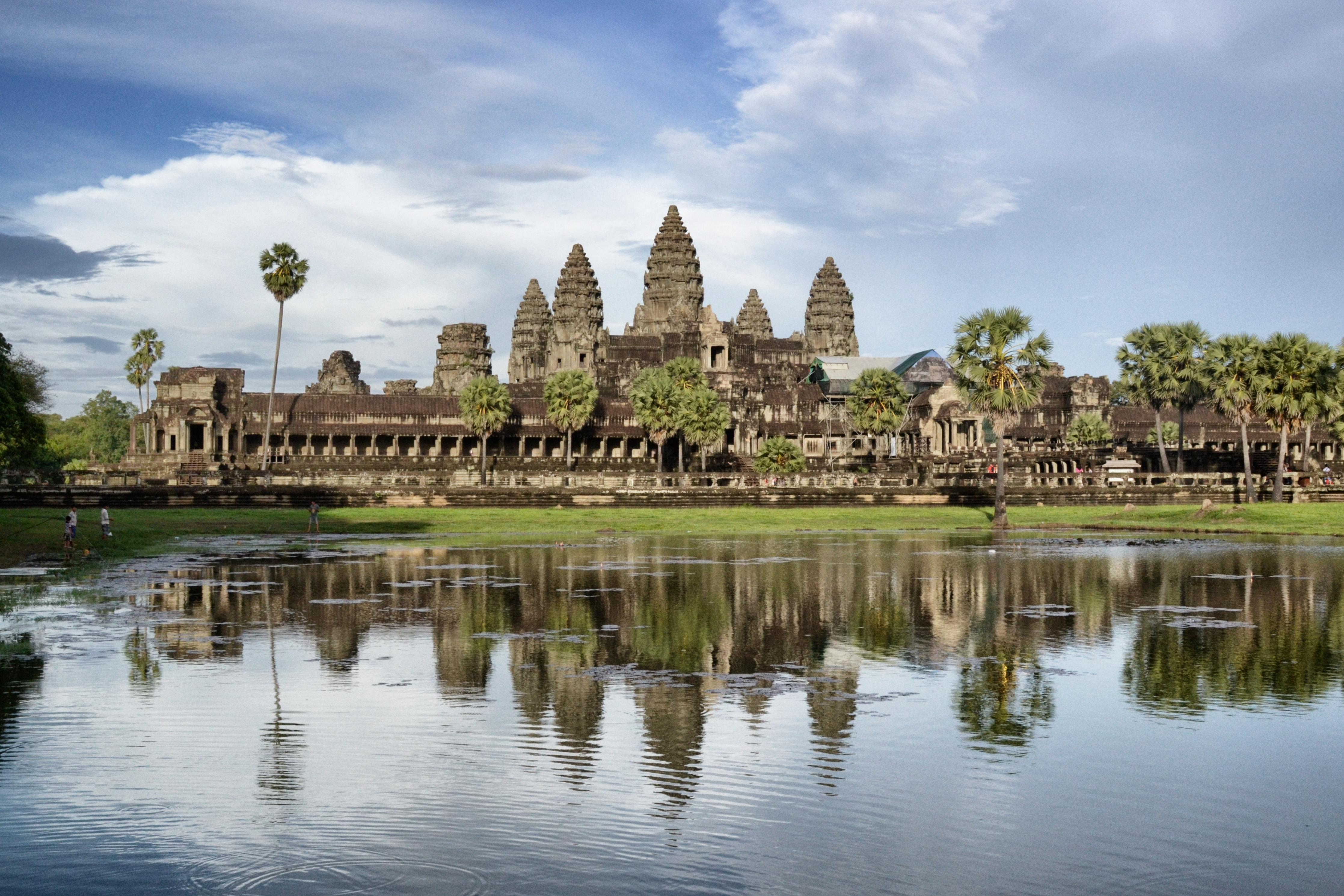 General 4470x2980 Angkor Wat Cambodia historic ruins architecture Hinduism temple 城市风光