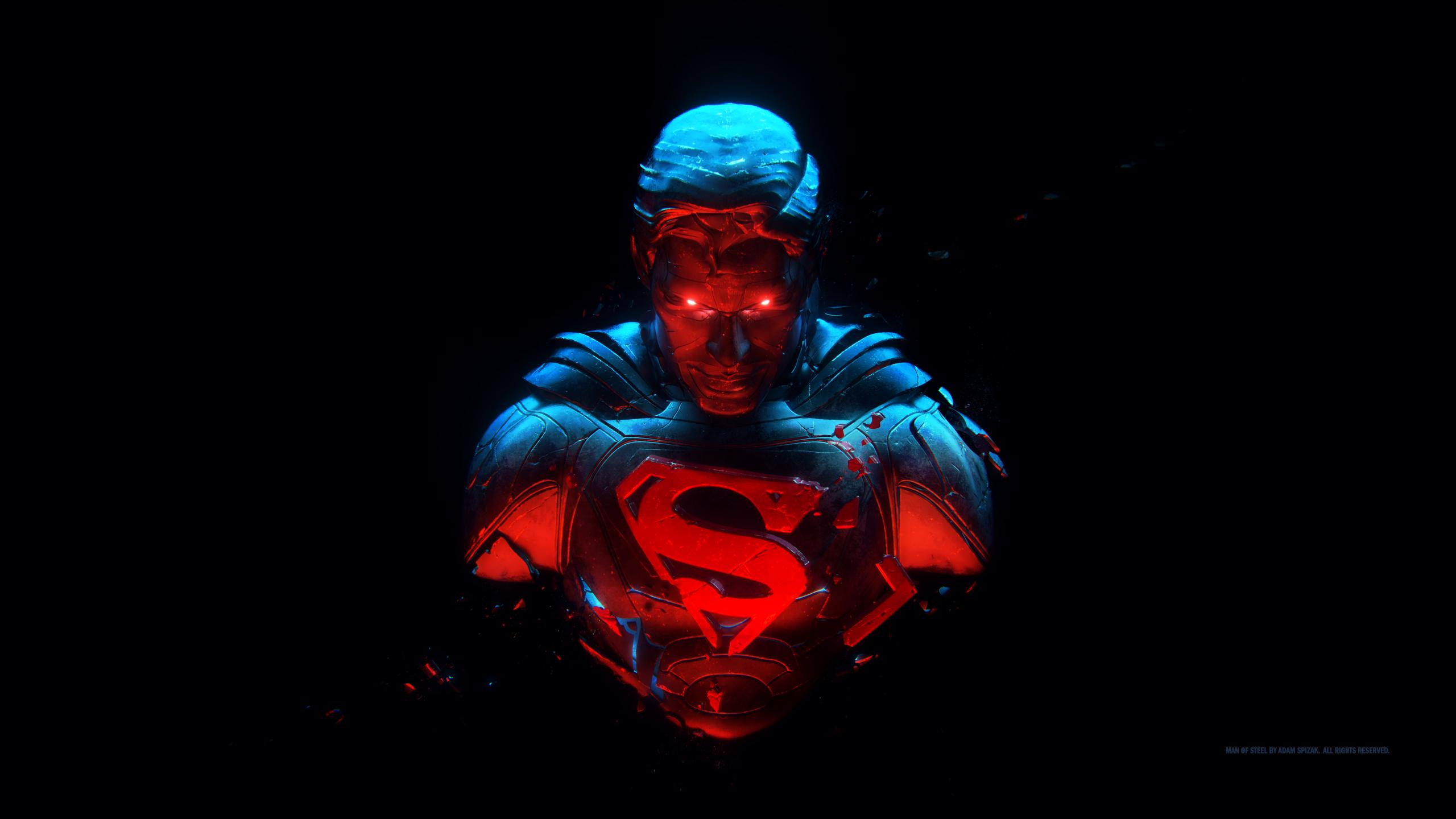 General 2560x1440 Superman Man of Steel DC Comics