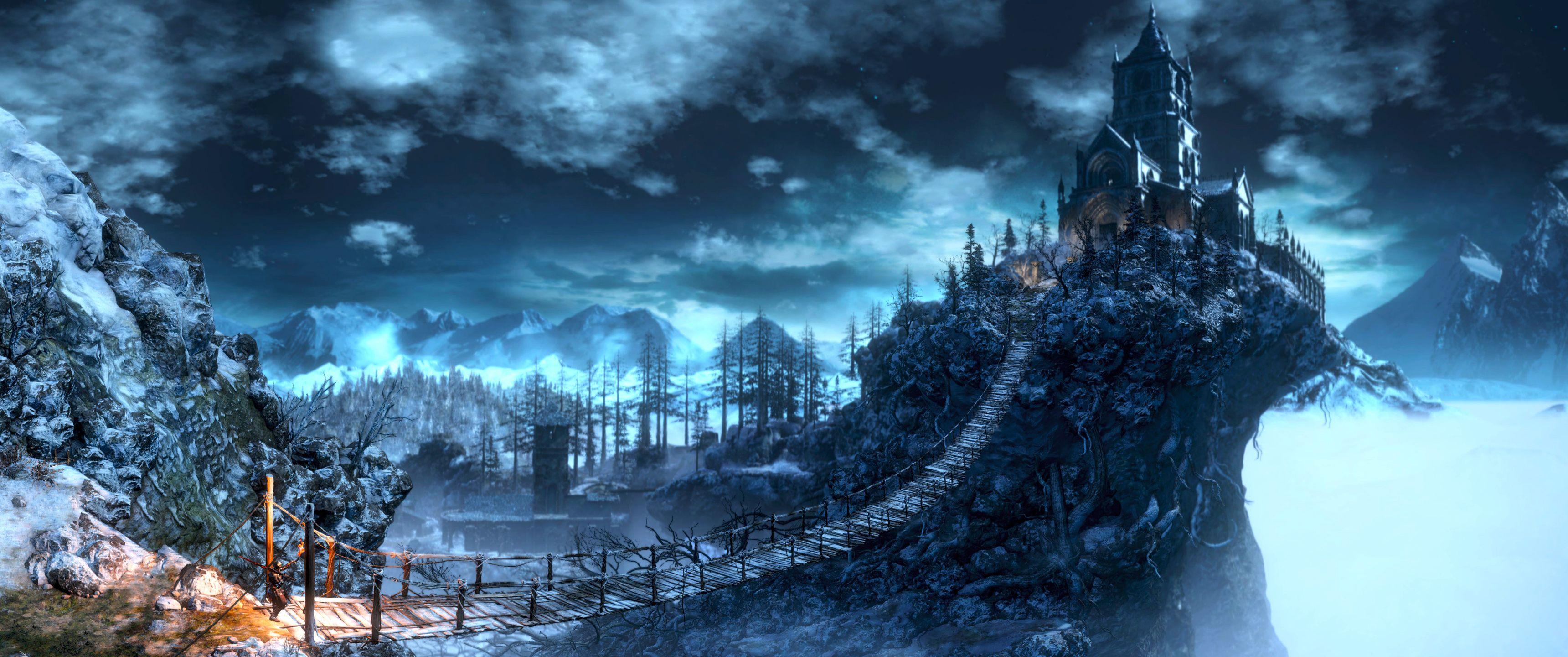 ultrawide, Dark Souls, dark souls 3   3440x1440 Wallpaper ...
