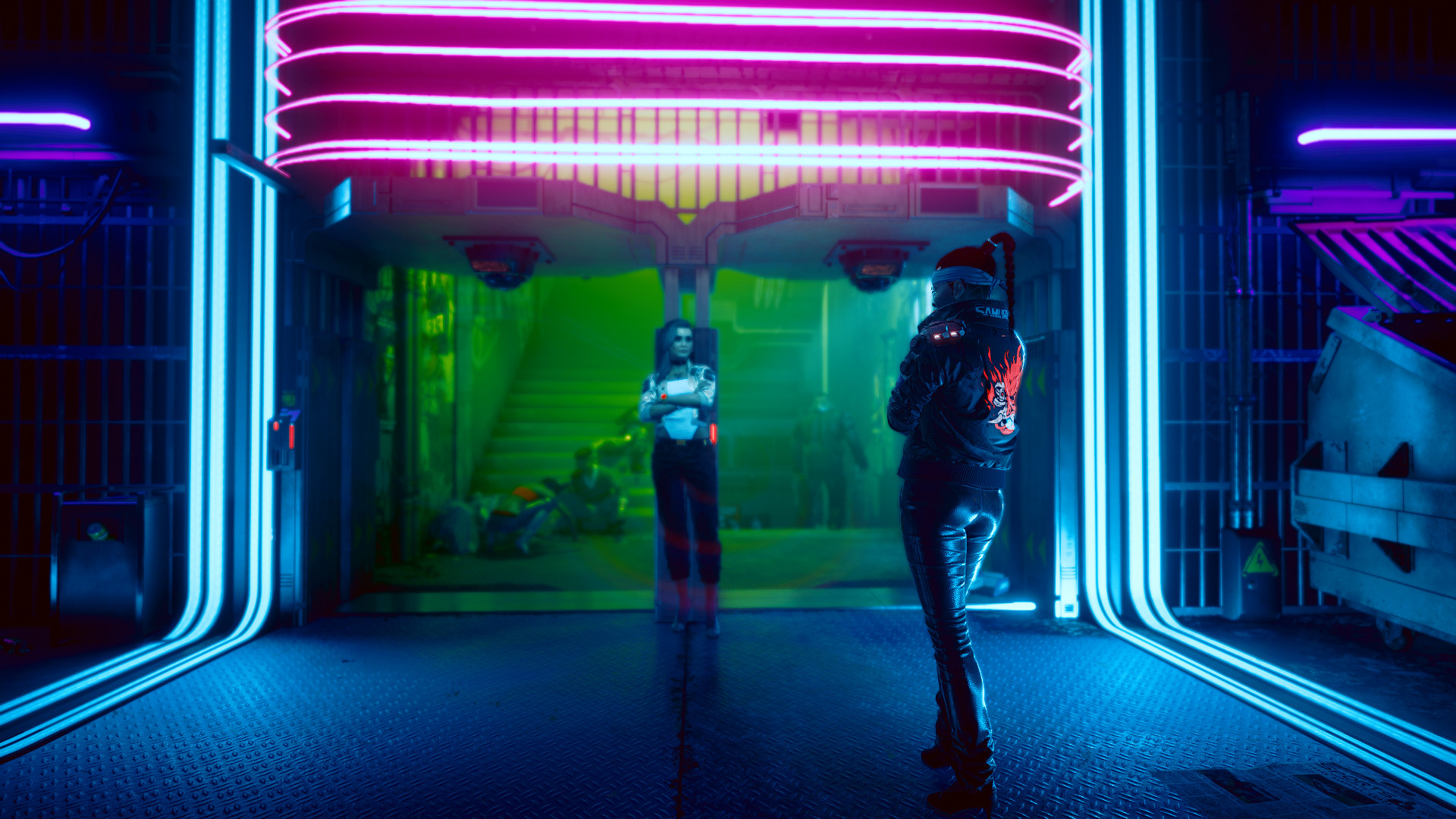 General 1920x1080 Cyberpunk 2077 video games cyberpunk cyberpunk v Female V Rogue Amendiares