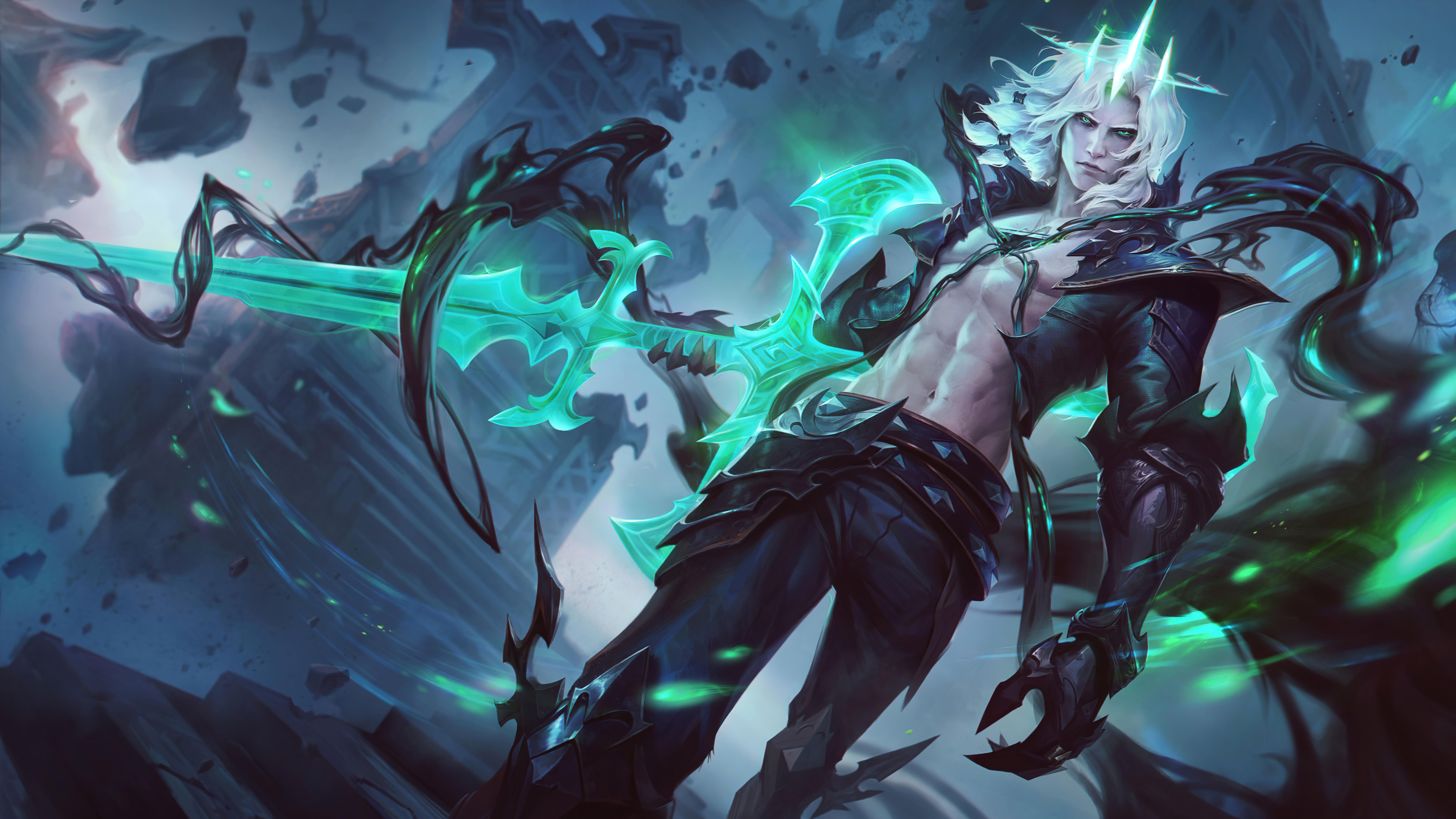 General 7680x4320 Viego (League of Legends) League of Legends Riot Games 4K