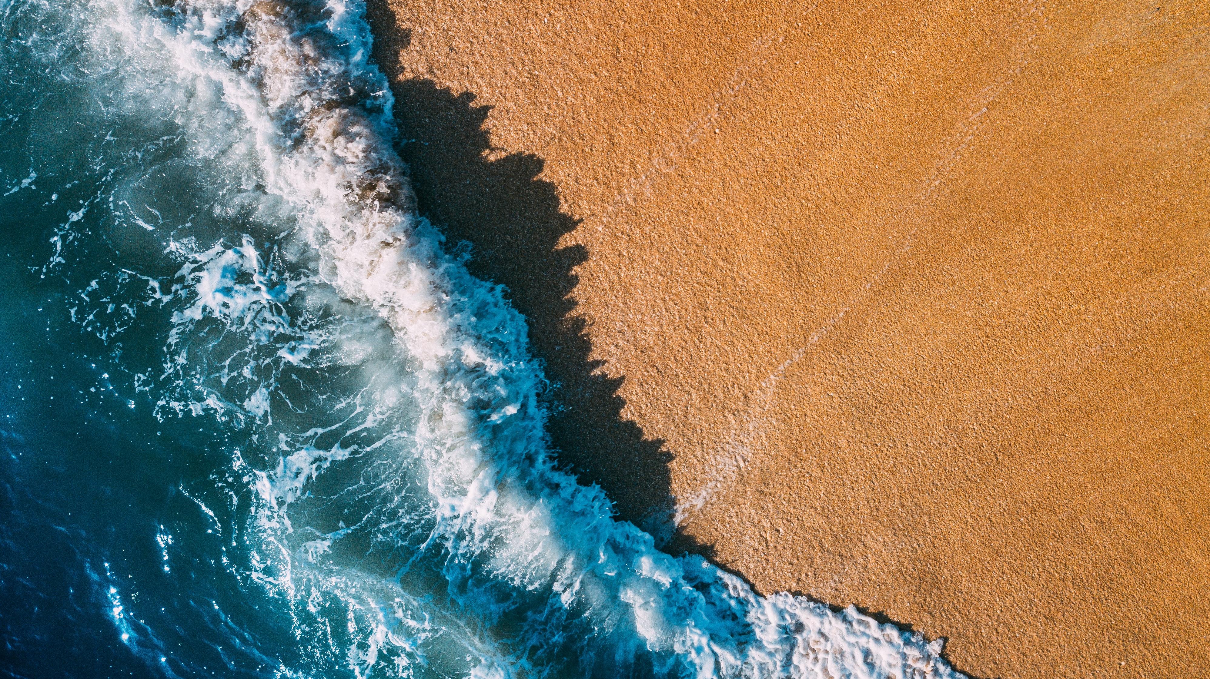 General 3992x2242 nature beach sand water