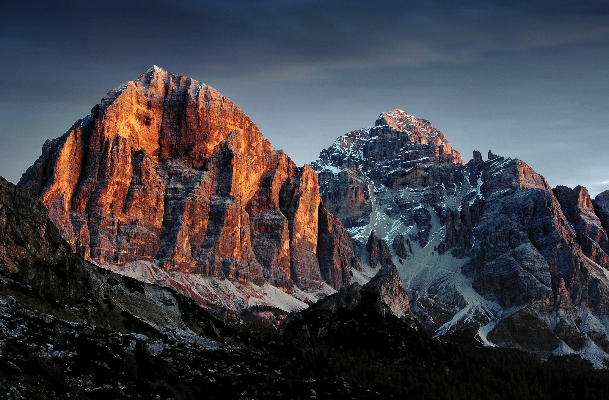 General 2048x1344 nature mountains landscape outdoors Dolomites (mountains) dolomite alps Tofana di Rozes, Italy