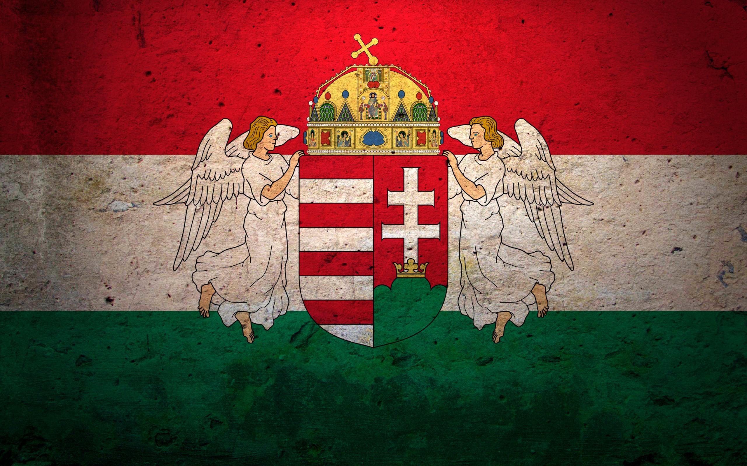 General 2560x1600 Hungarian flag red white grunge green