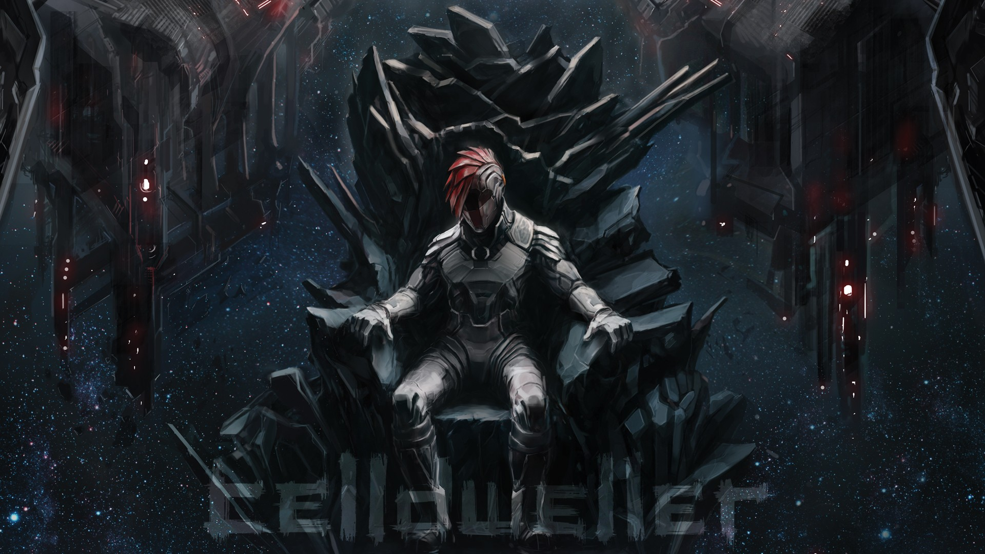 General 1920x1080 Klayton robot throne space science fiction End of an Empire