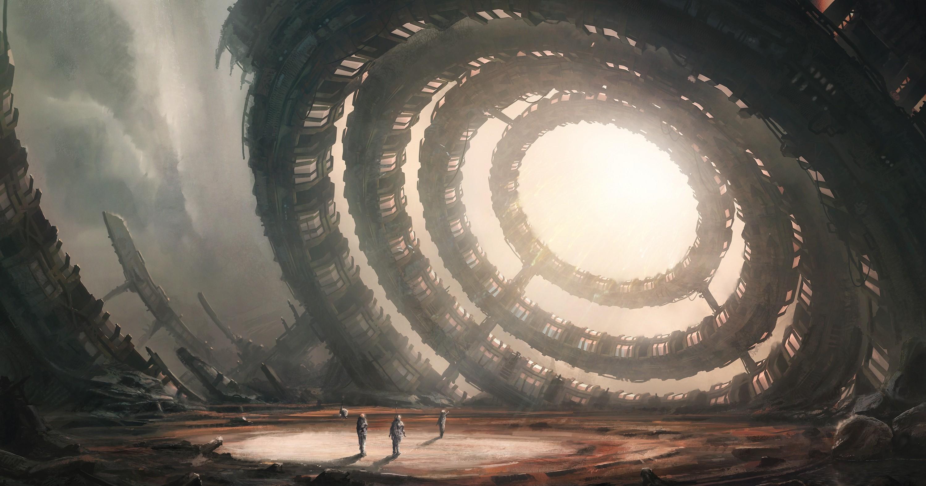 General 2998x1573 artwork science fiction futuristic