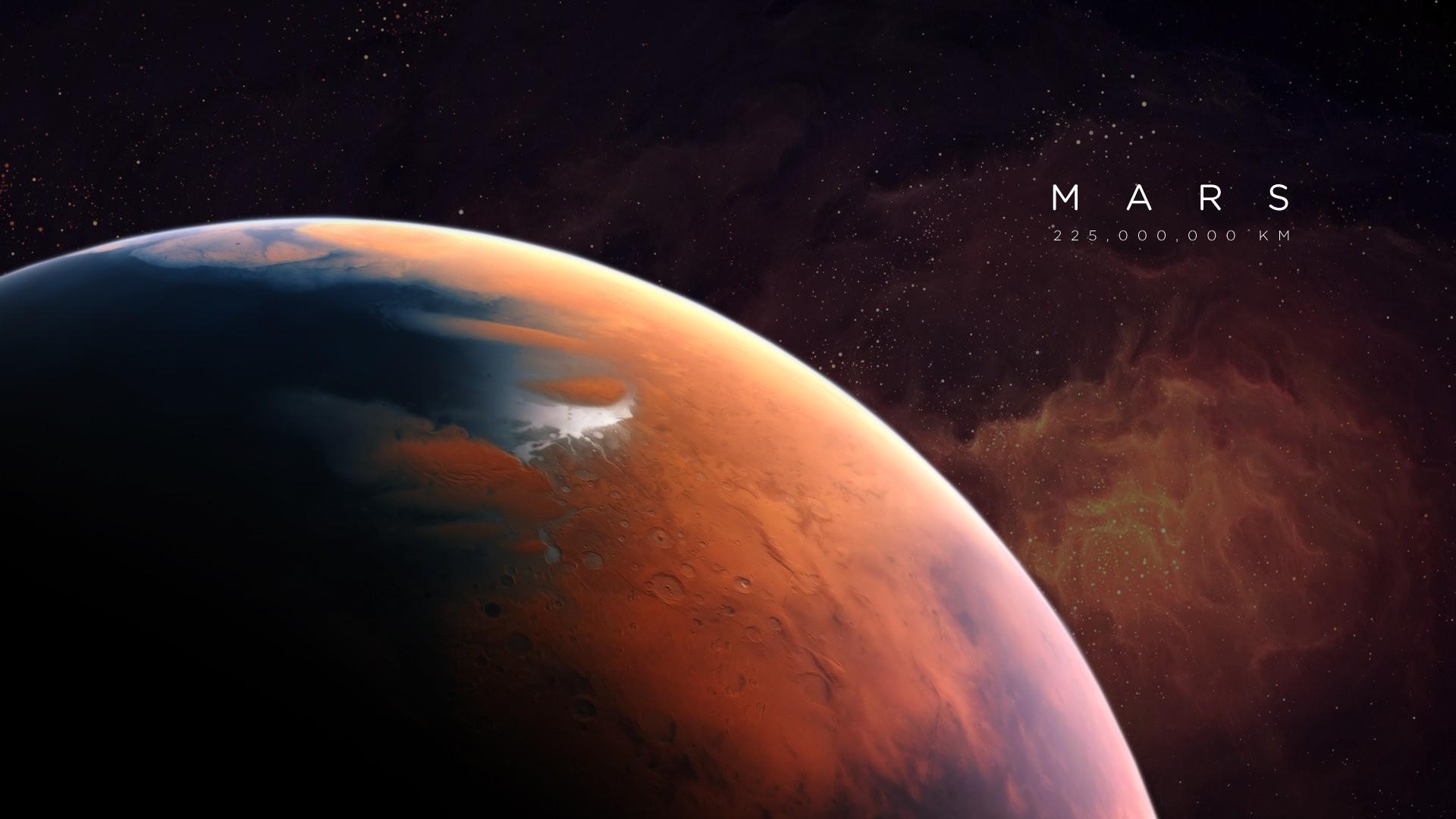 General 1920x1080 Mars space universe artwork planet space art