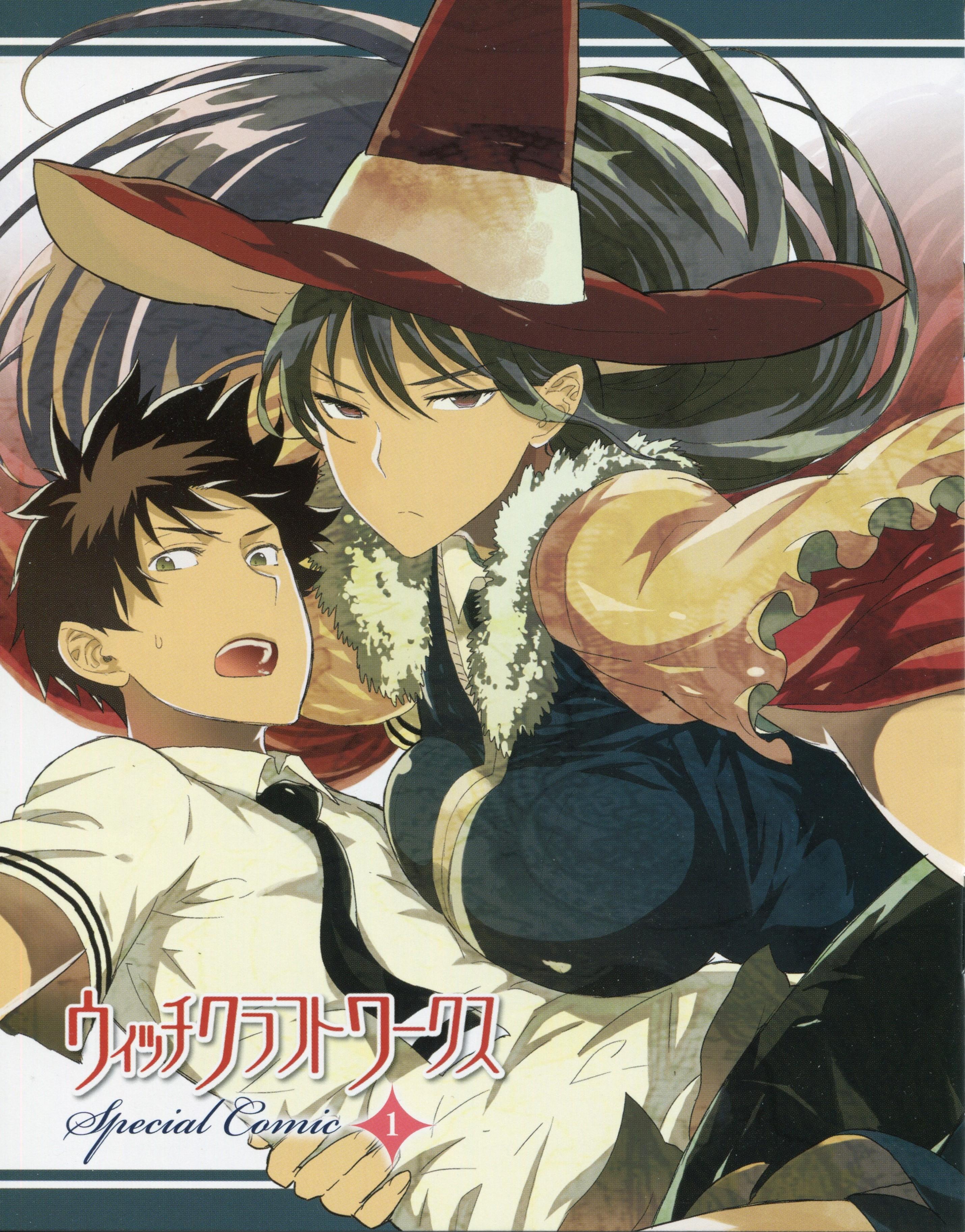 Anime 2860x3650 Witch Craft Works Kagari Ayaka Takamiya Honoka