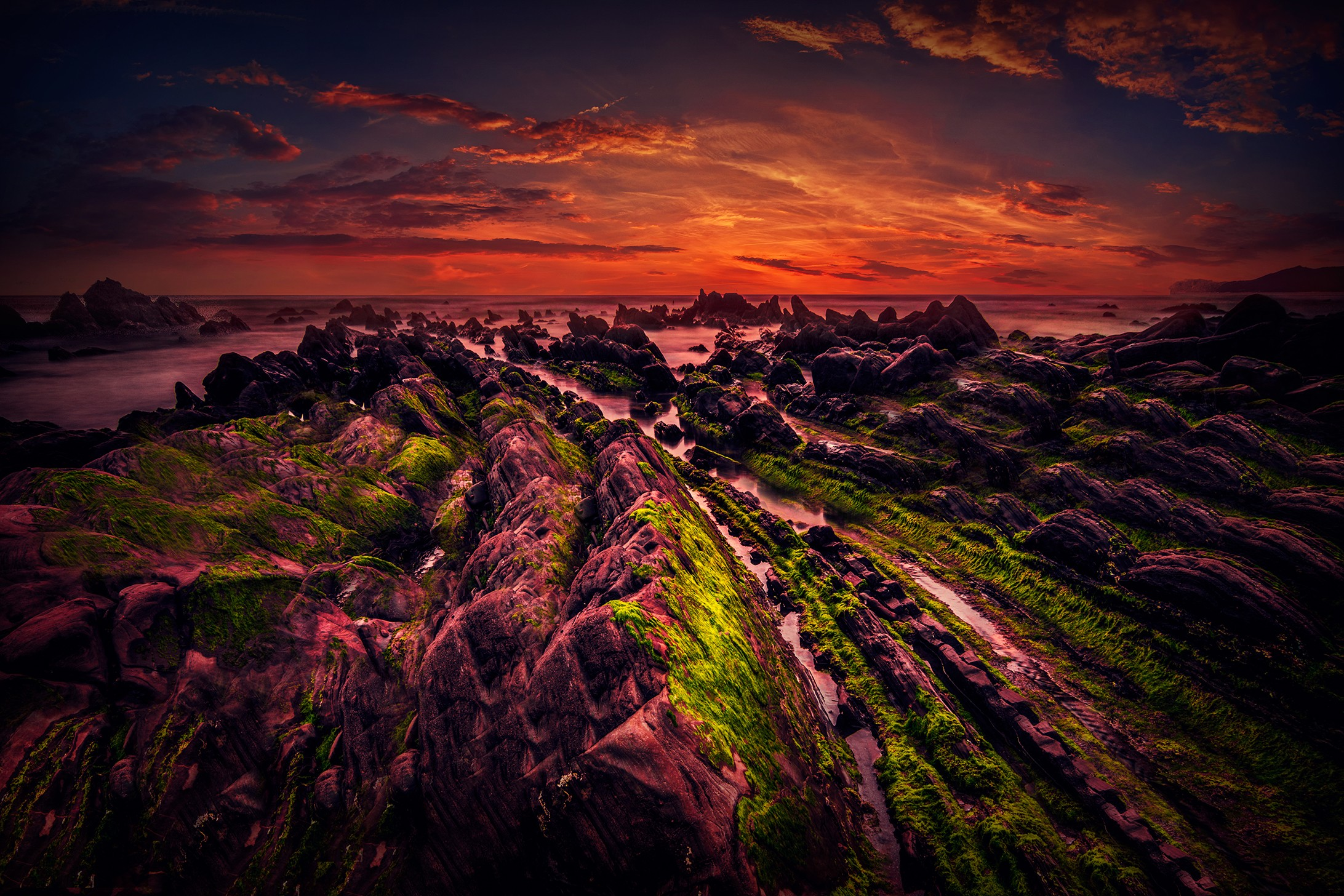 General 2184x1456 sunset sky dark nature