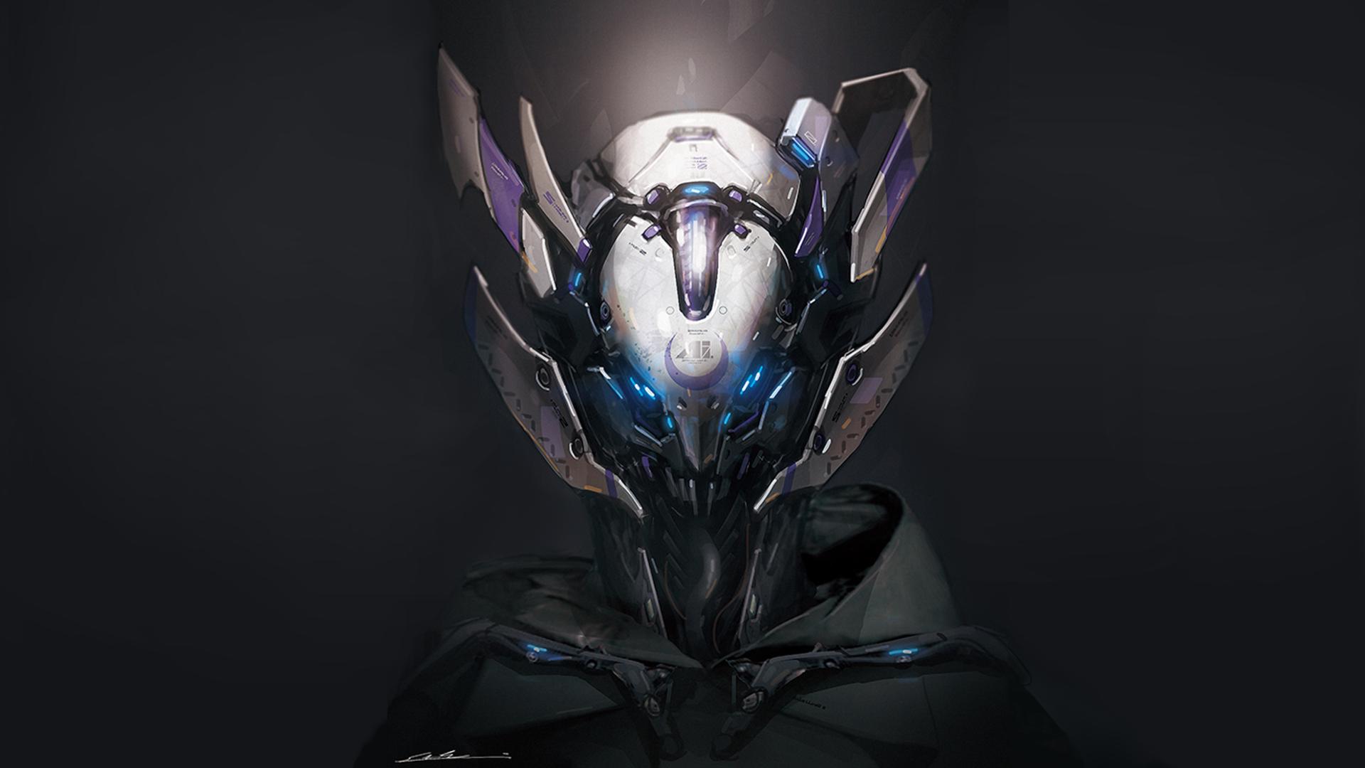 General 1920x1080 digital art artwork android robot robot futuristic science fiction