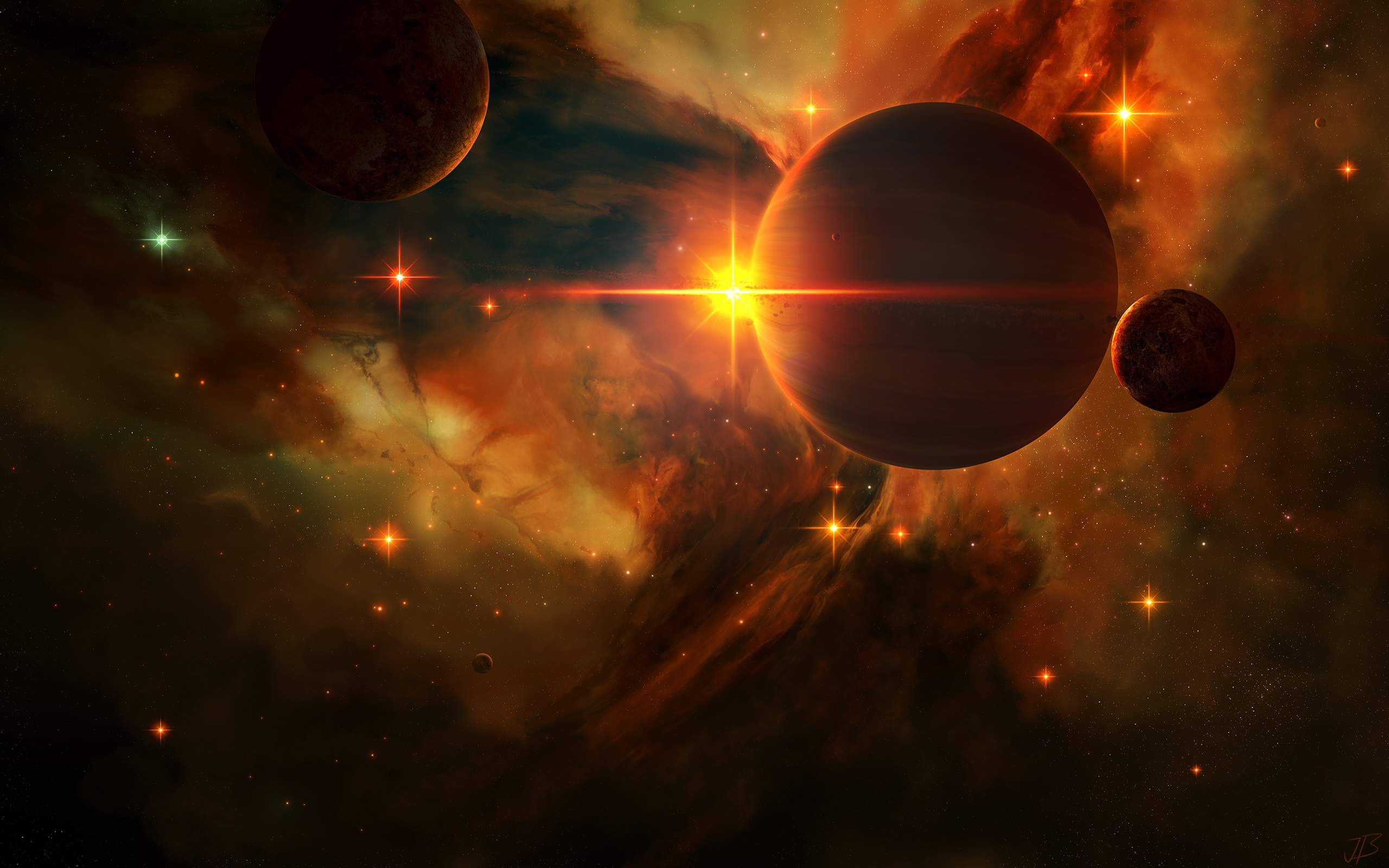 General 2560x1600 planet space space art digital art JoeyJazz