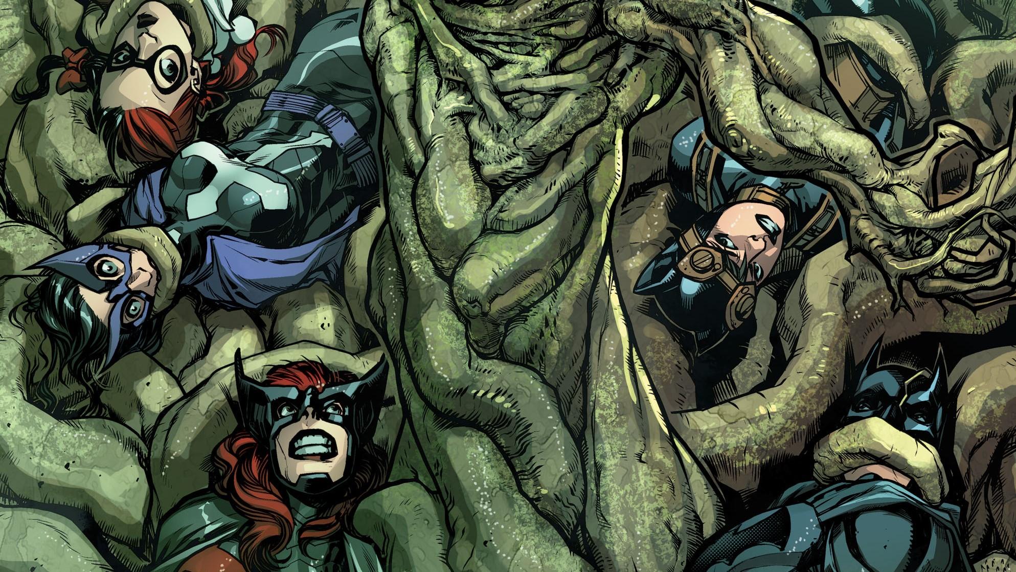 Anime 1987x1118 Injustice 2 DC Comics DC Universe Harley Quinn Huntress Catwoman Batman Batwoman