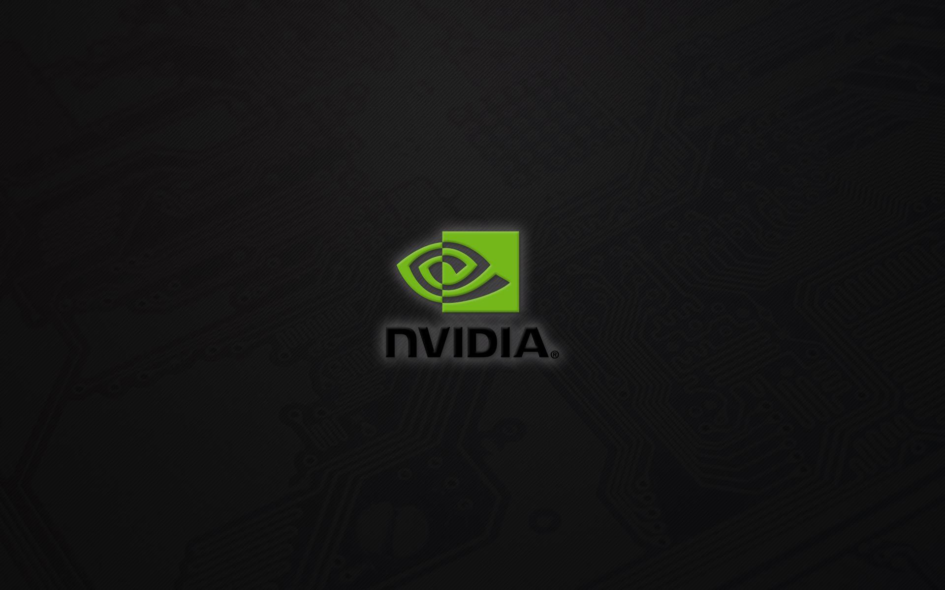 General 1920x1200 Nvidia logo minimalism