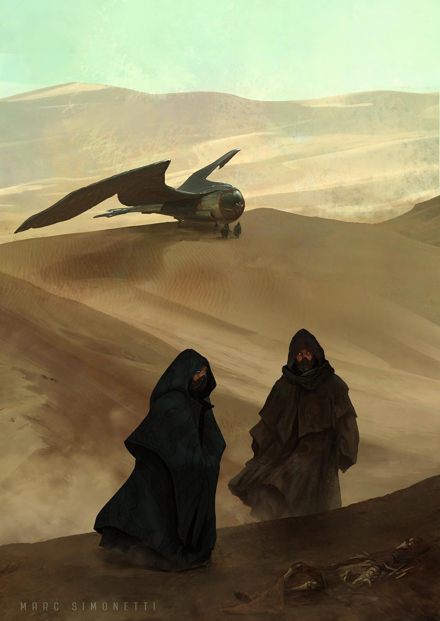 General 1417x2000 Marc Simonetti dunes illustration alia atreides hayt
