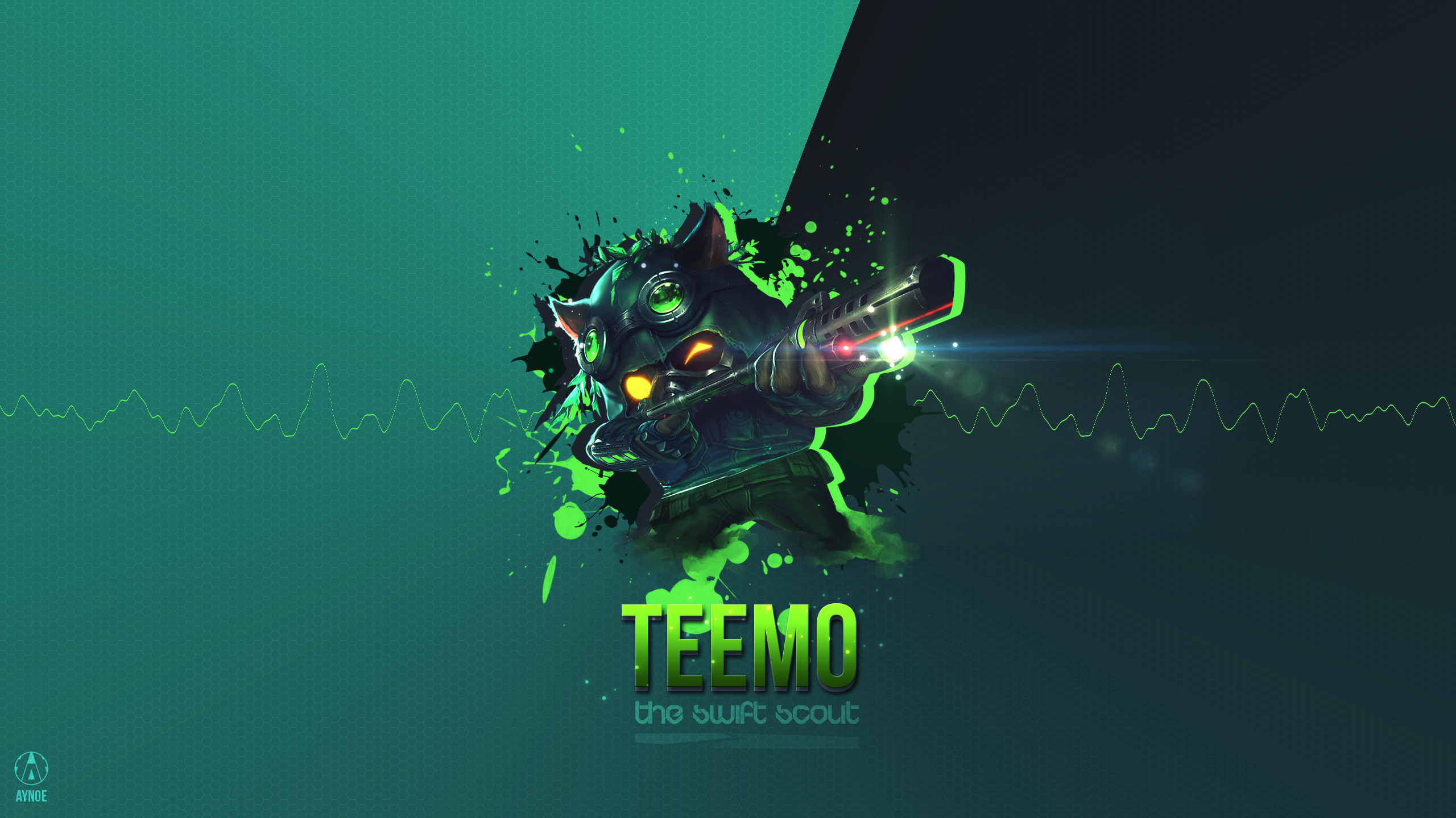 General 2560x1440 League of Legends Twitch PC gaming Teemo League of Legends