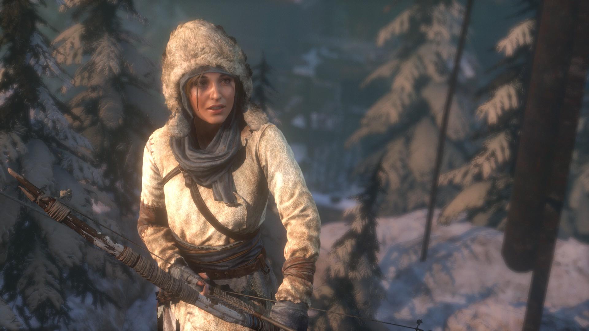 General 1920x1080 Rise of the Tomb Raider Lara Croft screen shot video games