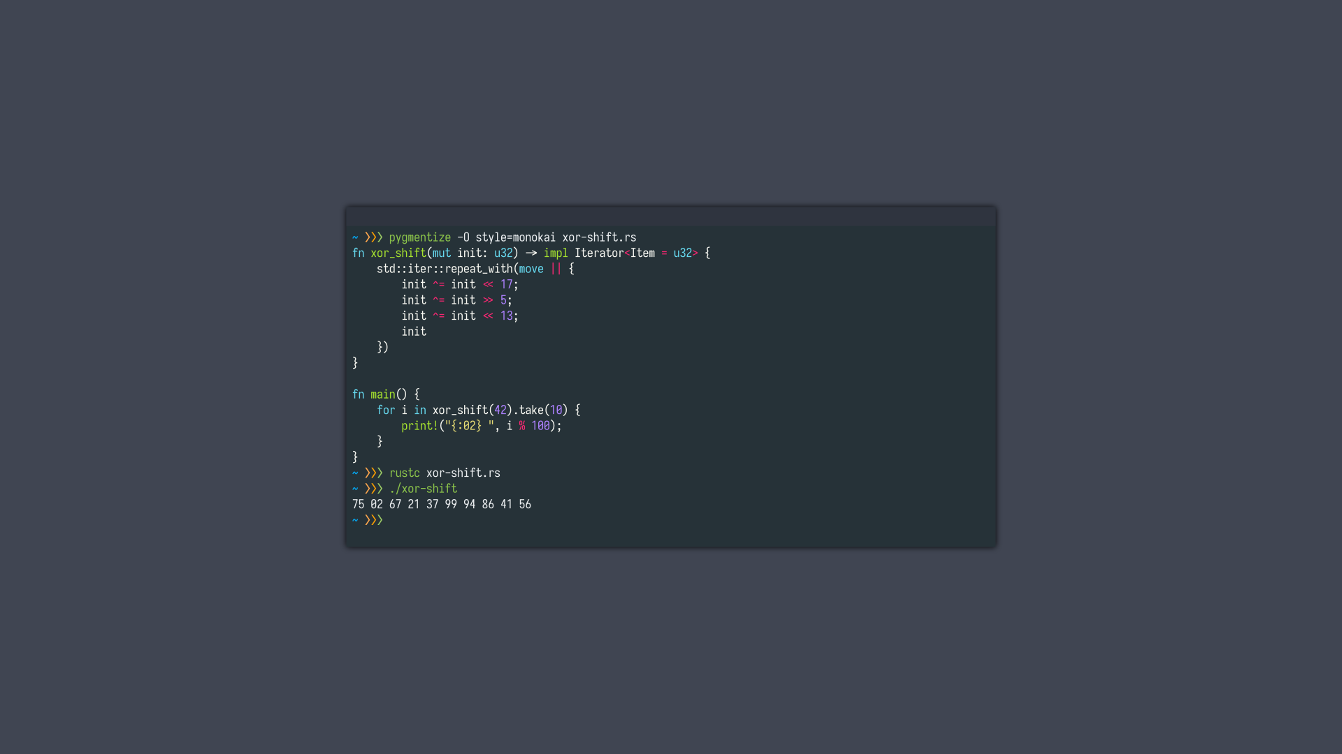 General 1920x1080 Rust (programming language) code programming syntax highlighting programming language minimalism